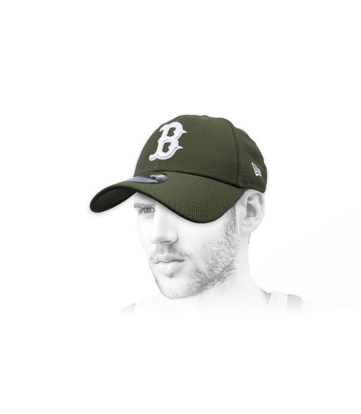 gorra B verde Diamond