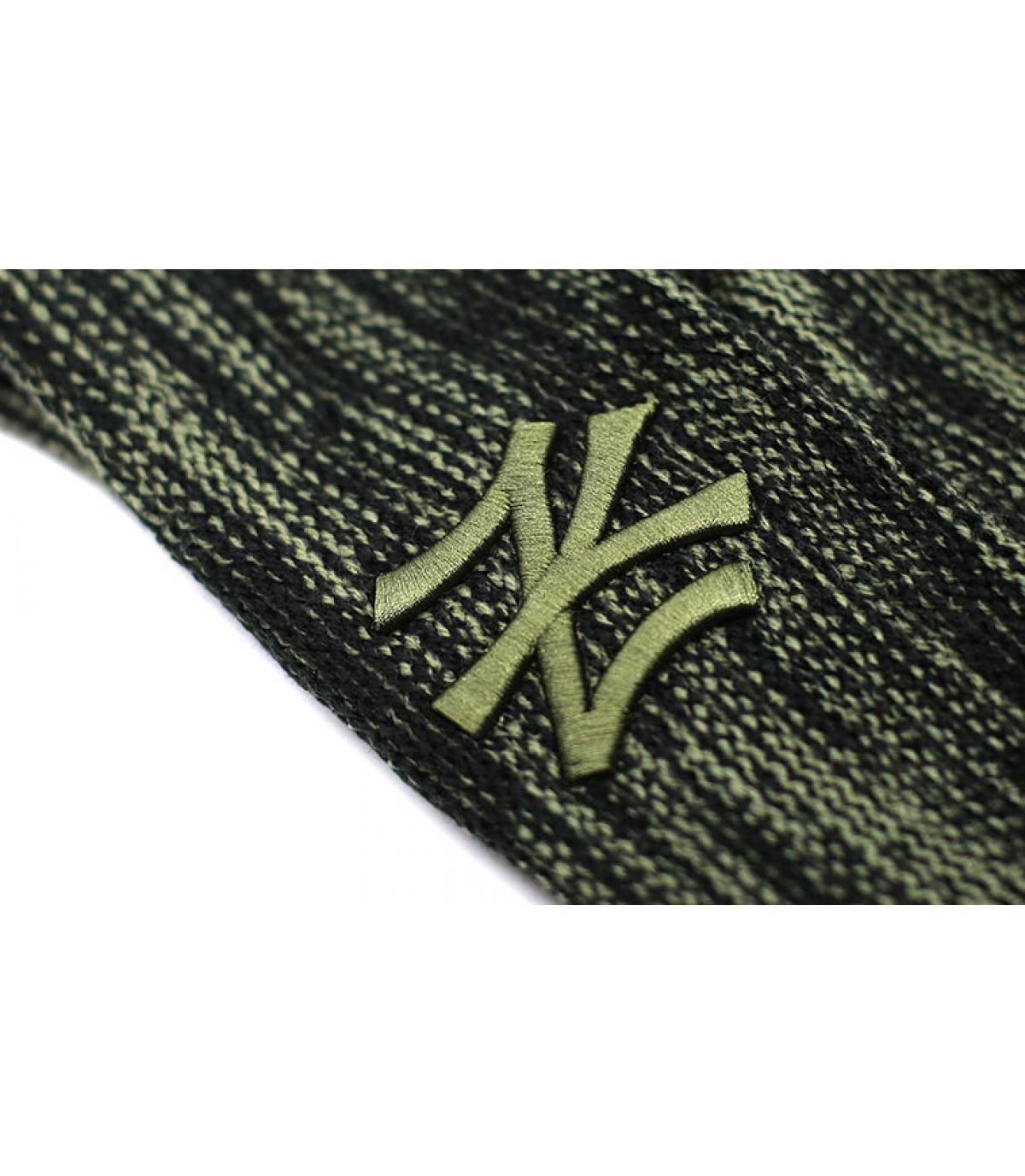 Detalles NY Marl Knit black Olive imagen 3