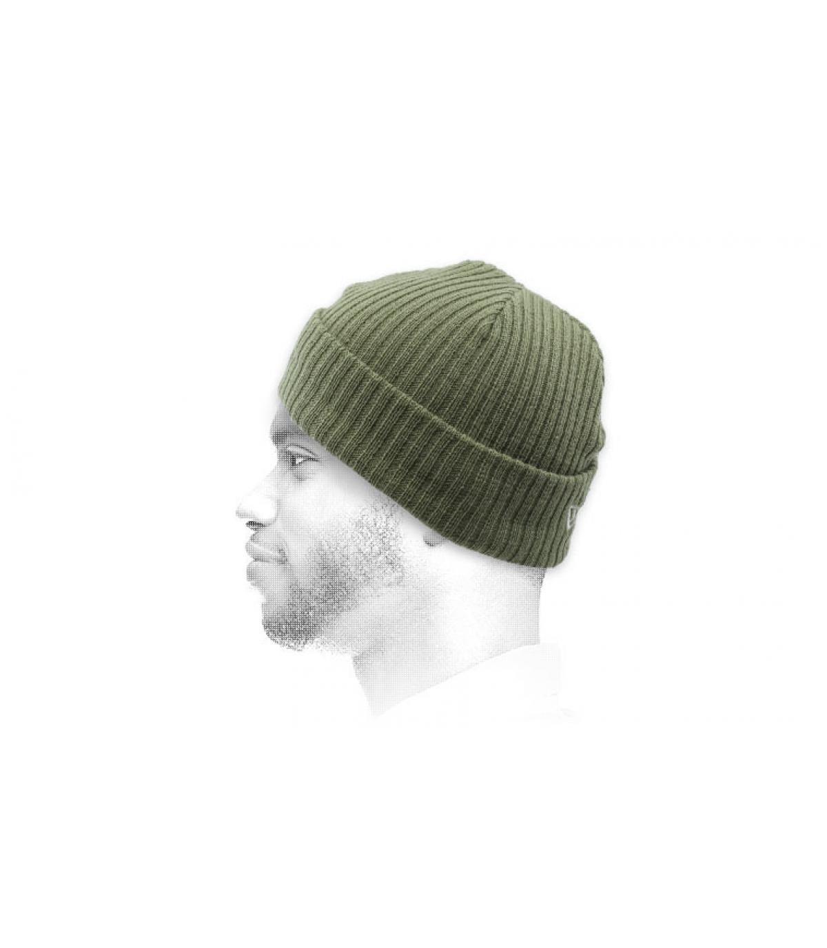 gorro docker verde