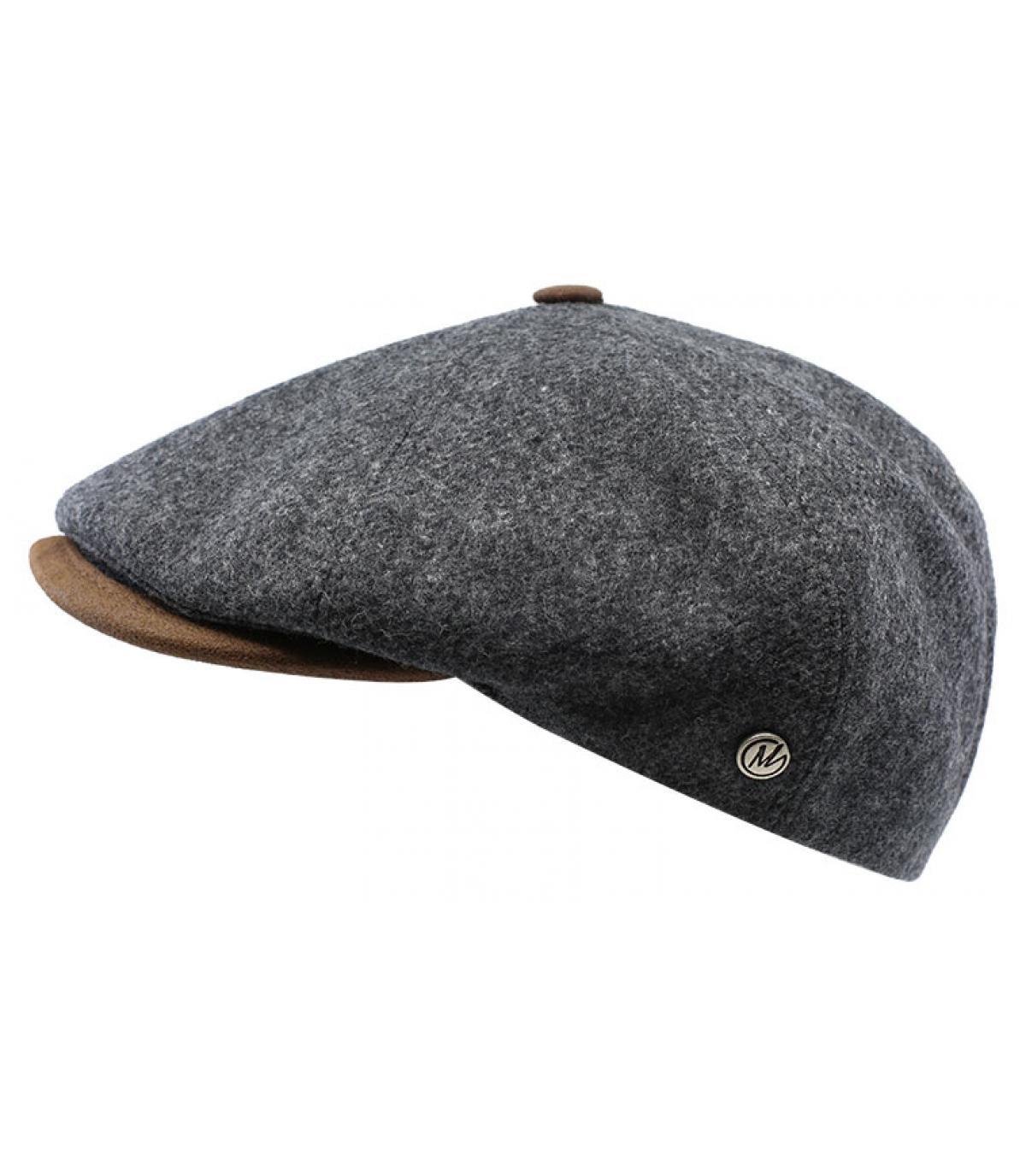 gorra repartidor lana gris