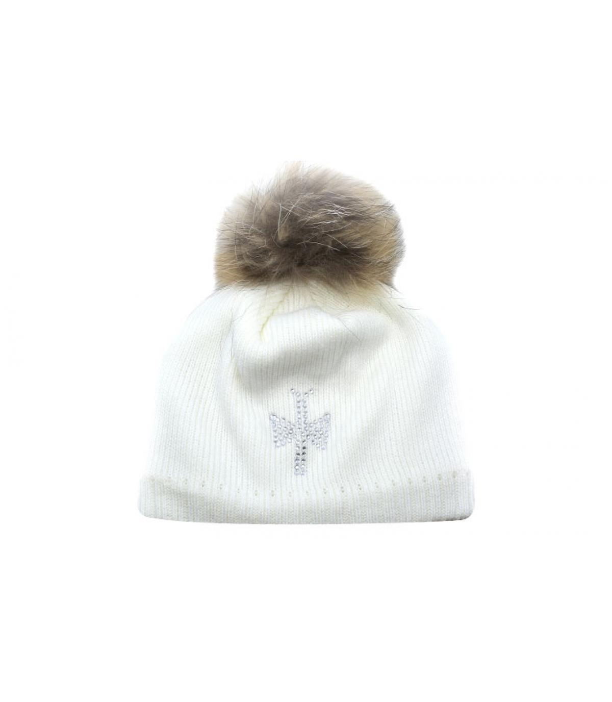 78dac86a58529 Gorro blanco - Compra venta de Gorros blancos. Primera sombrerería en  línea. Entrega en 48 72horas.