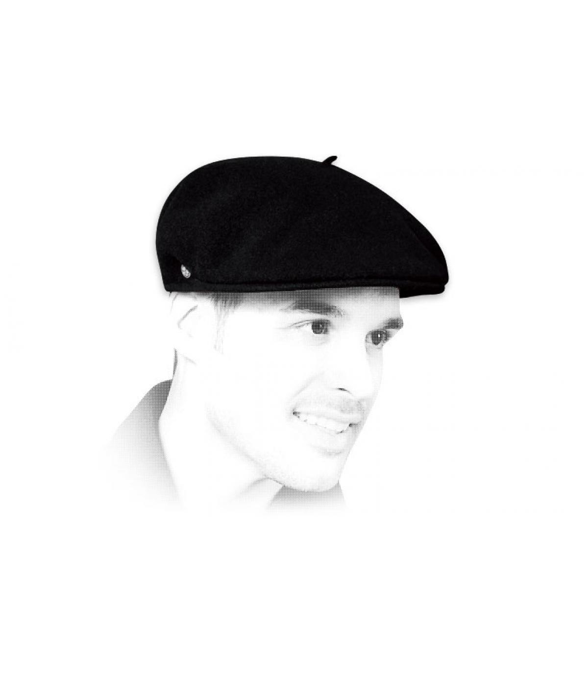 Gorra retro negro