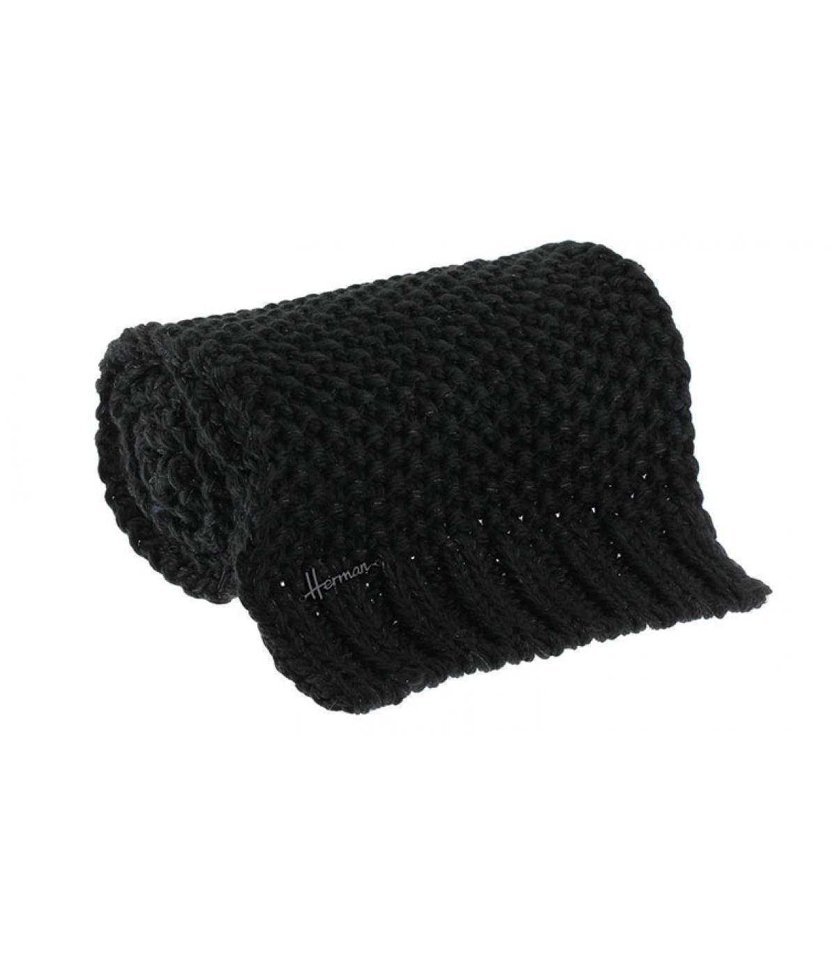 bufanda negro lurex