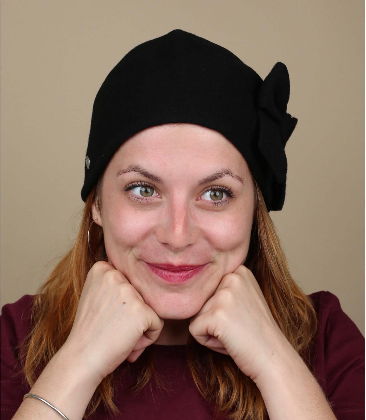 Sombrero cloche mujer