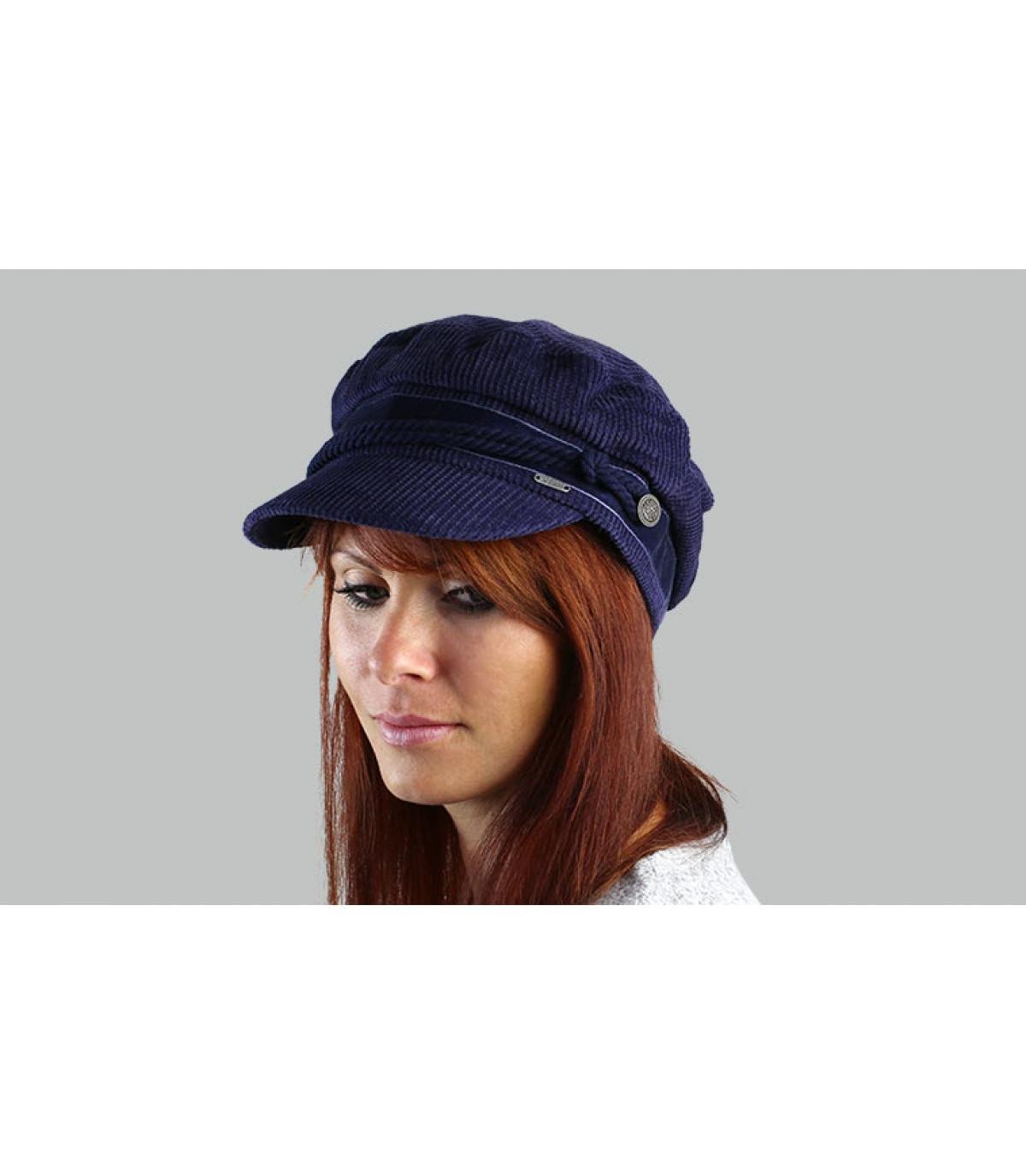 gorra marinera azul Barts