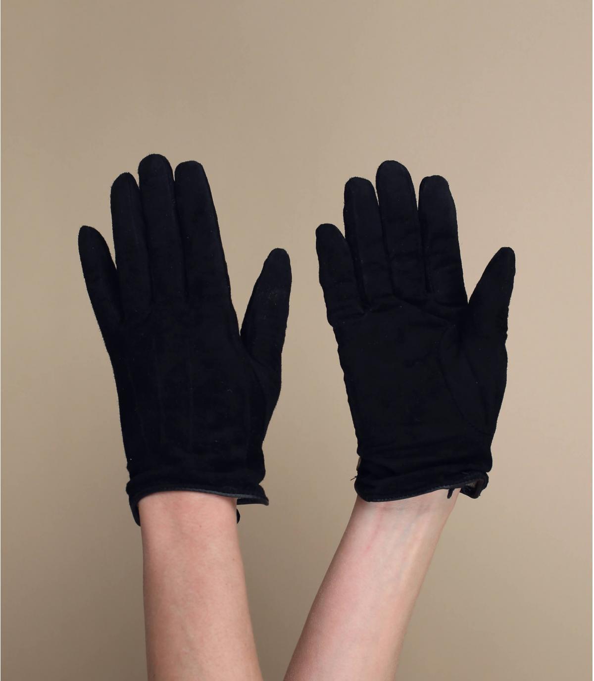 guantes mujer negro Barts