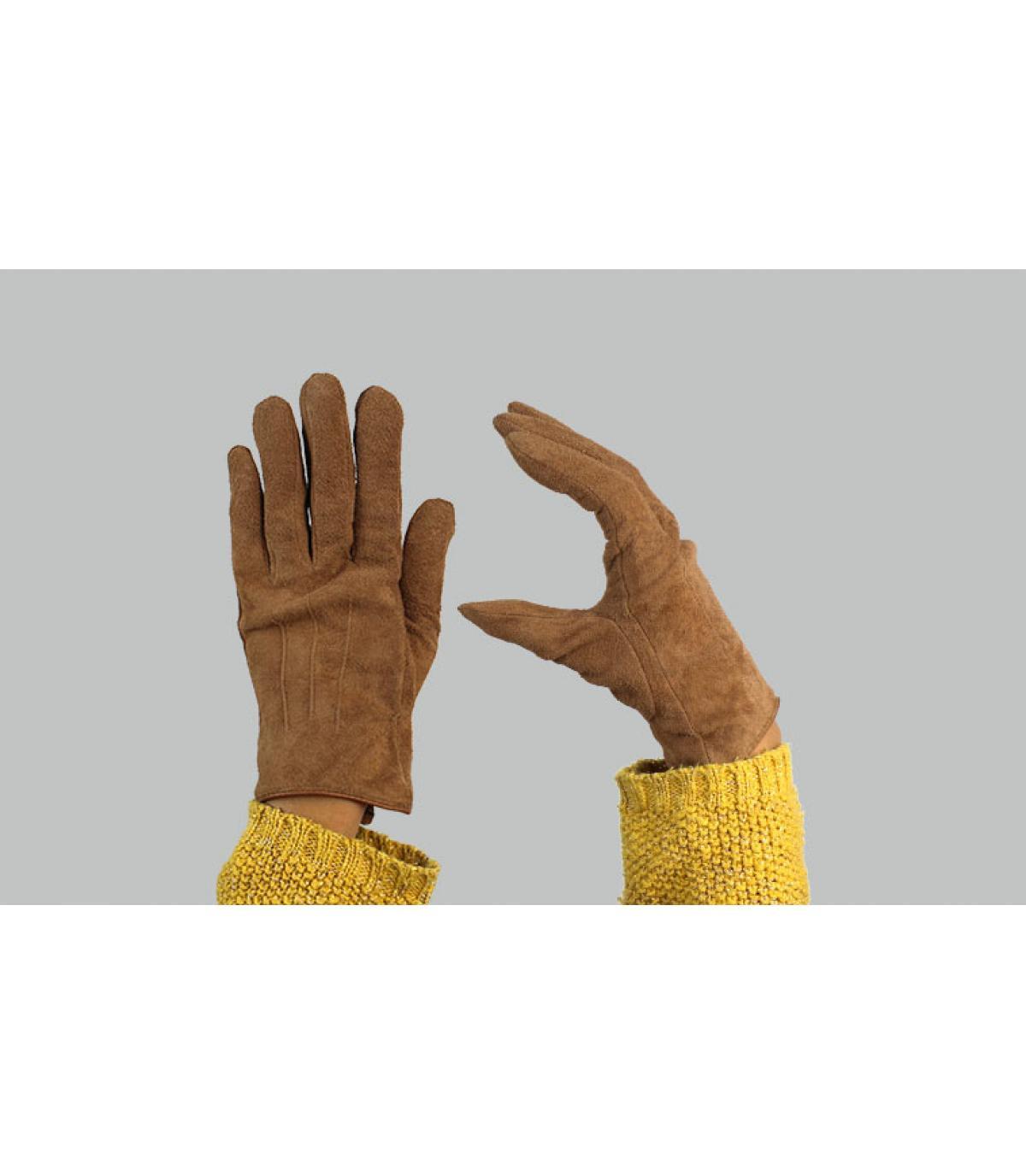 guantes mujer marrón Barts
