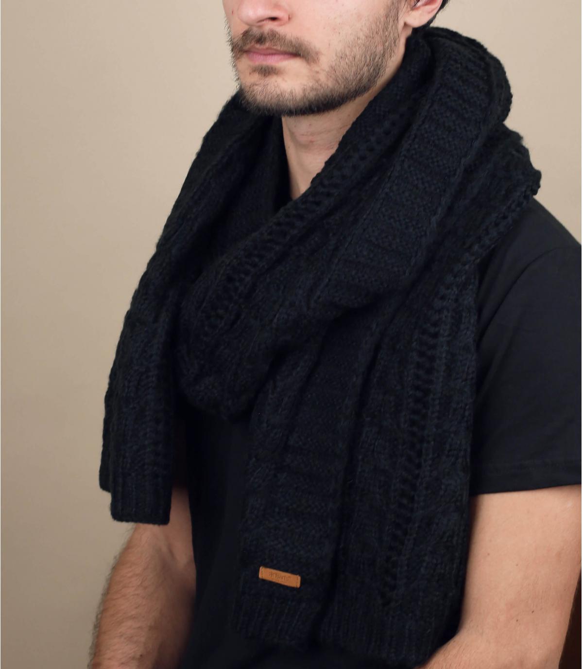 bufanda negro Barts