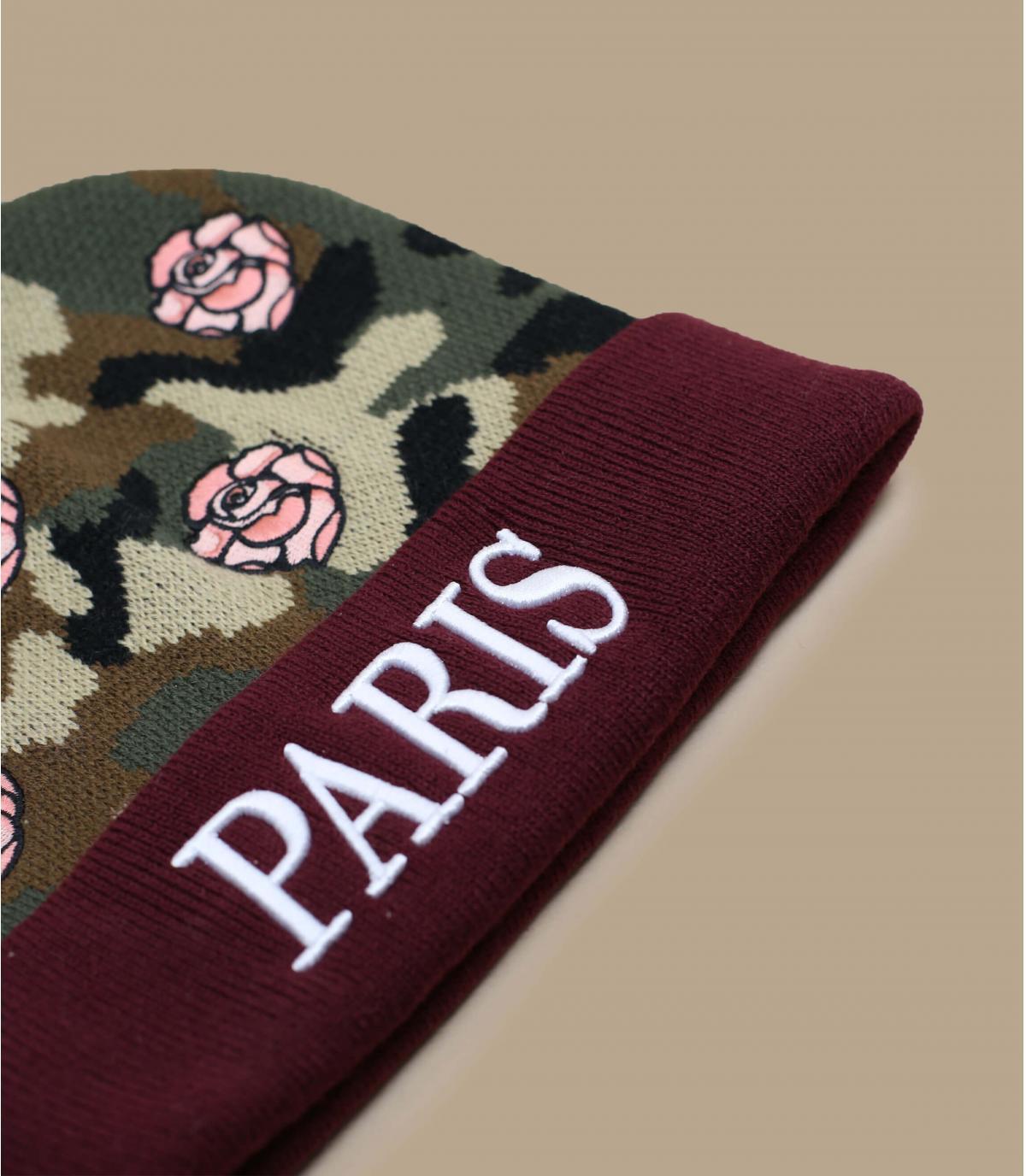 Detalles Gorro Le Parisien floral imagen 3