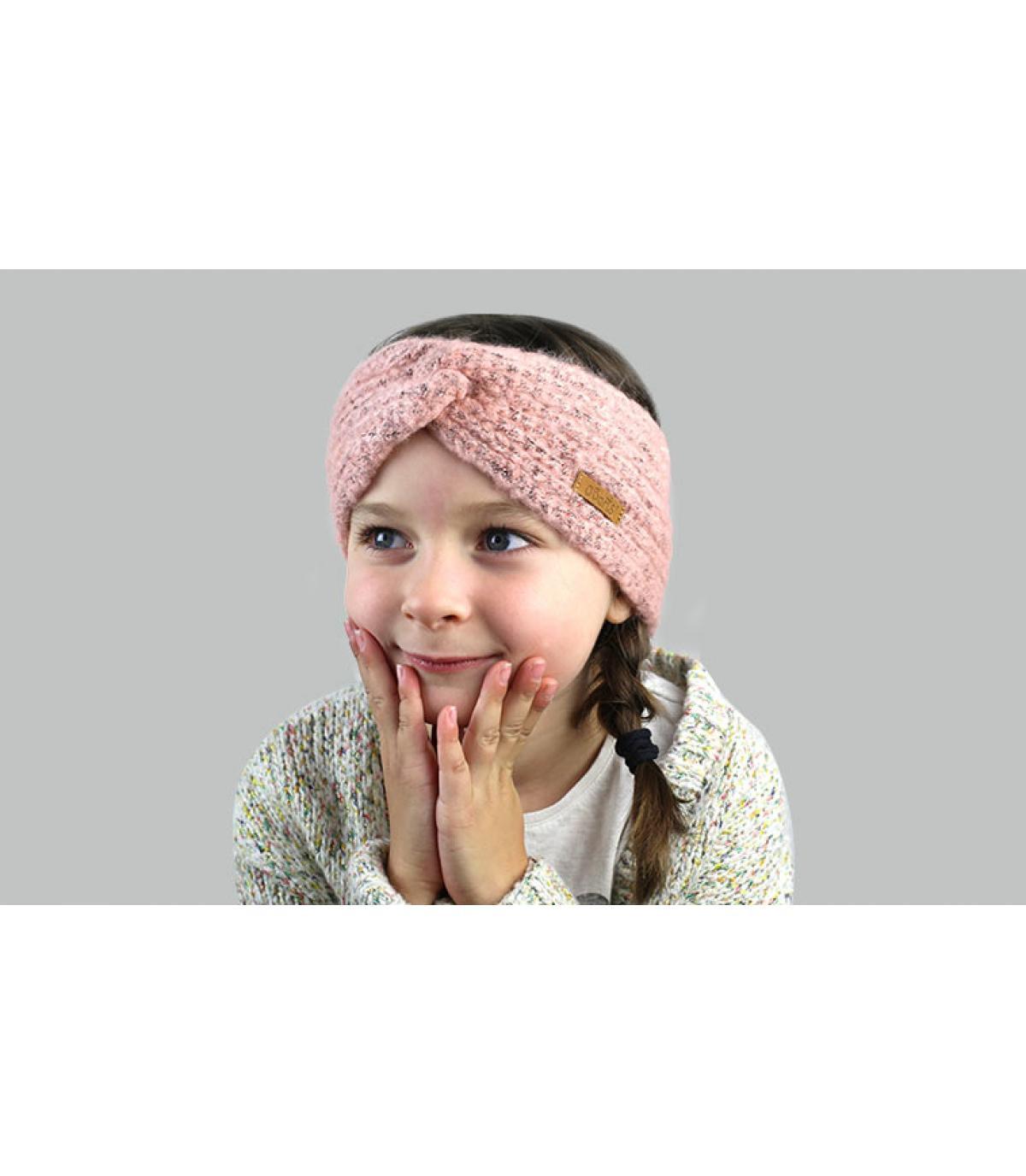 cinta niña rosa