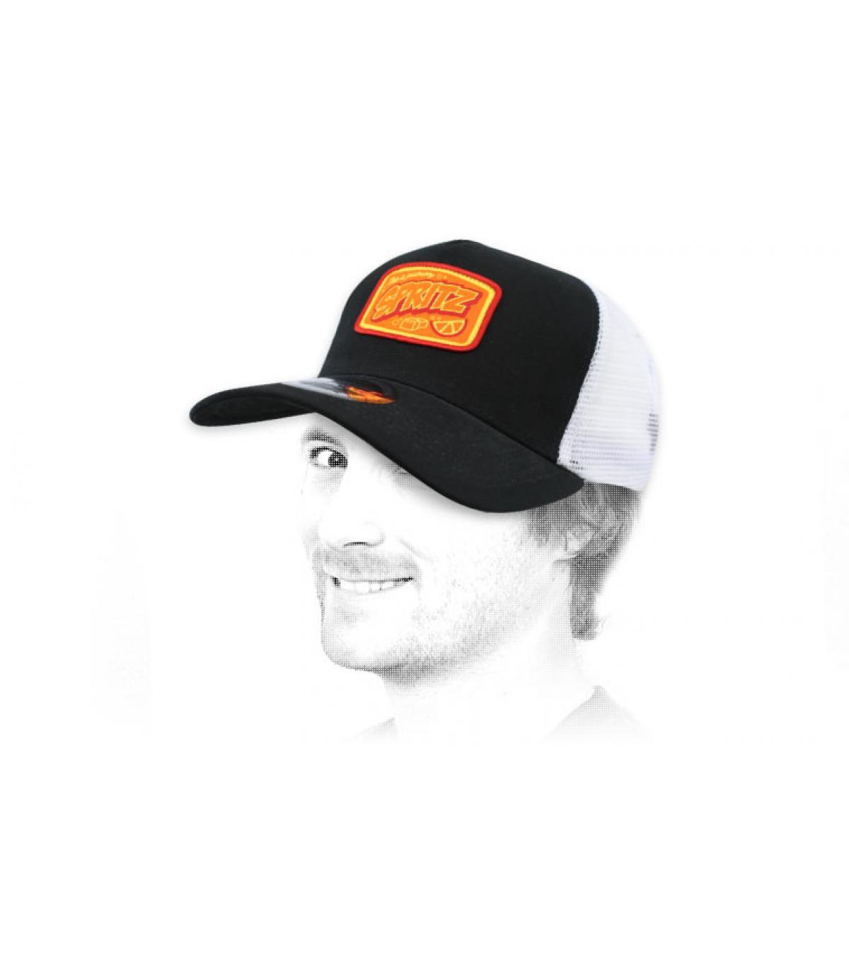 trucker Spritz negro