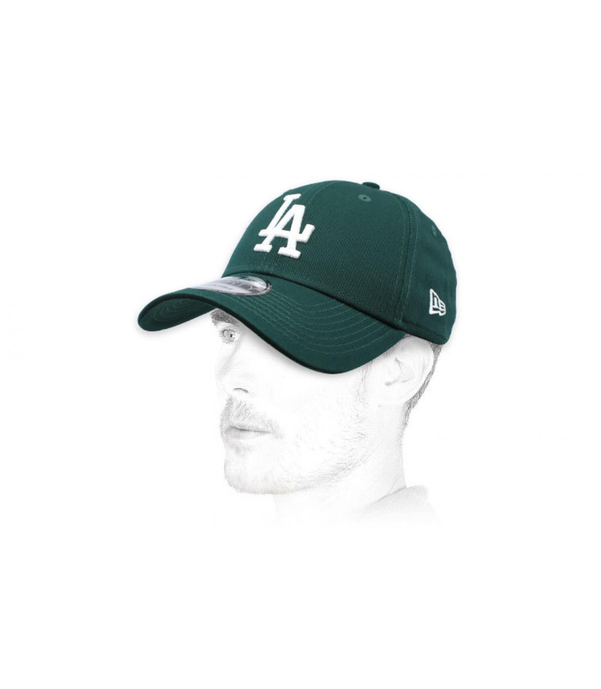 gorra LA verde