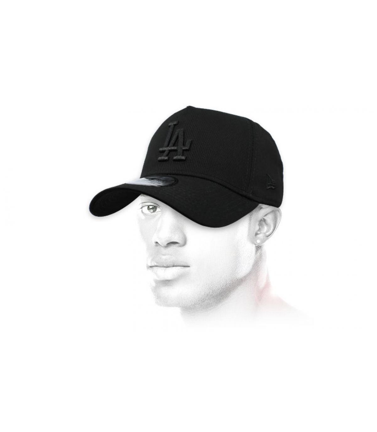gorra LA negro Aframe