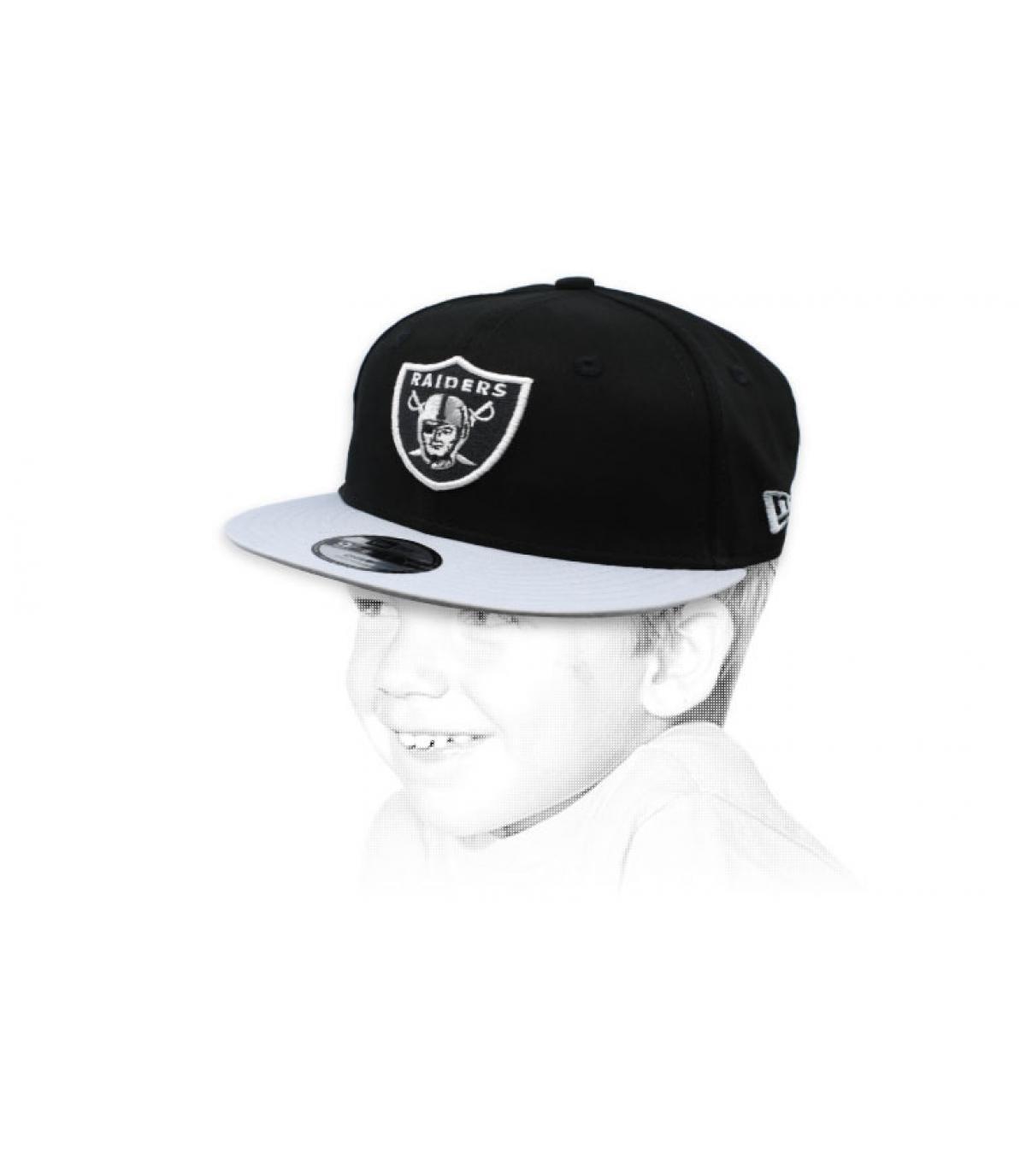 snapback Raiders niño