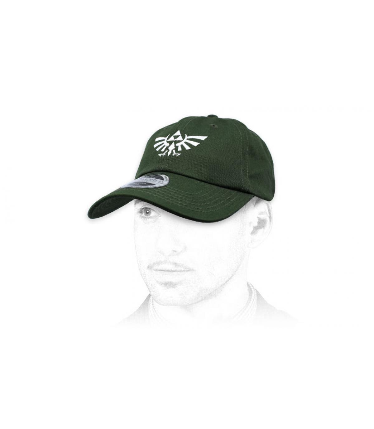 gorra Zelda verde
