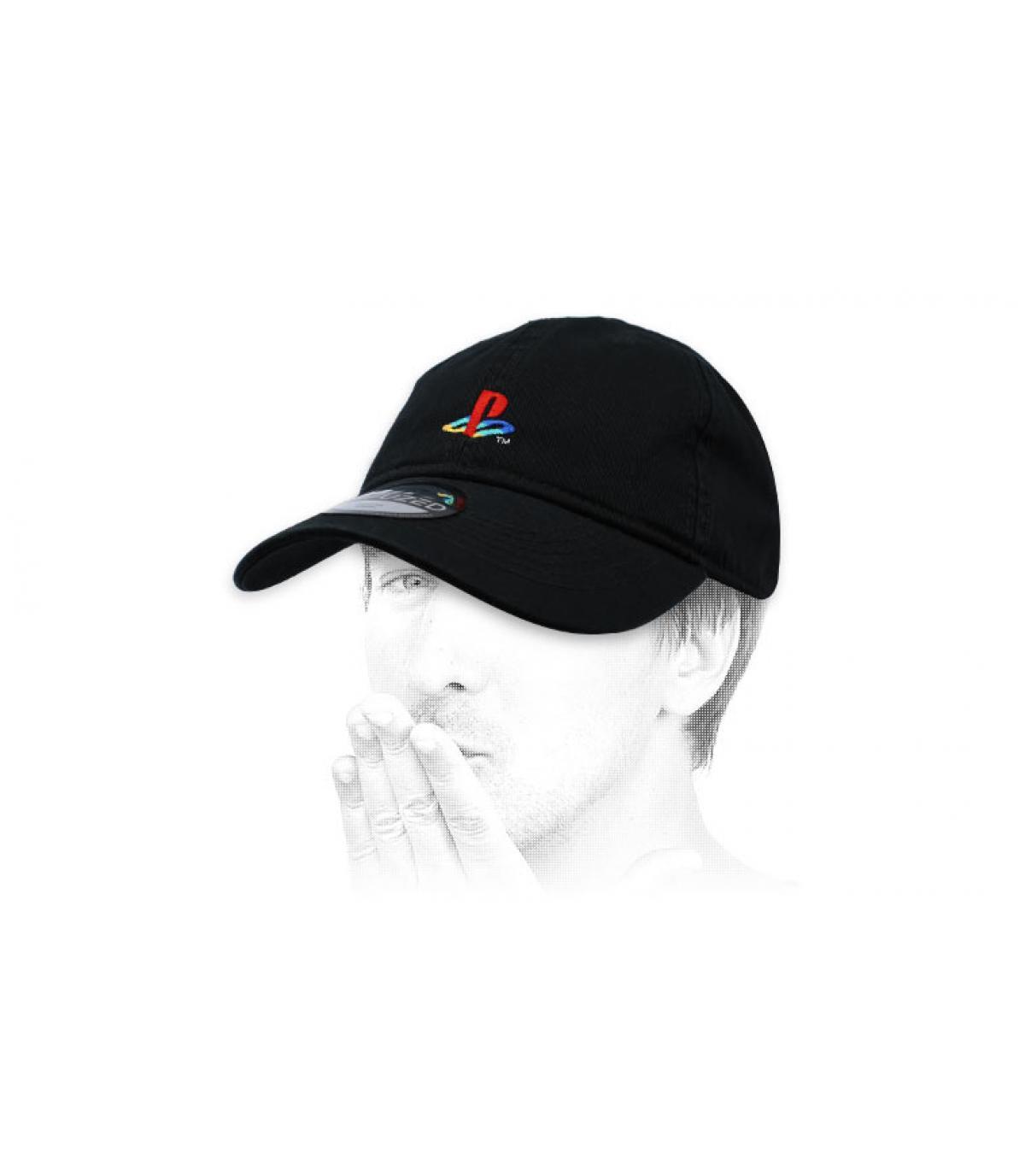gorra PlayStation negro