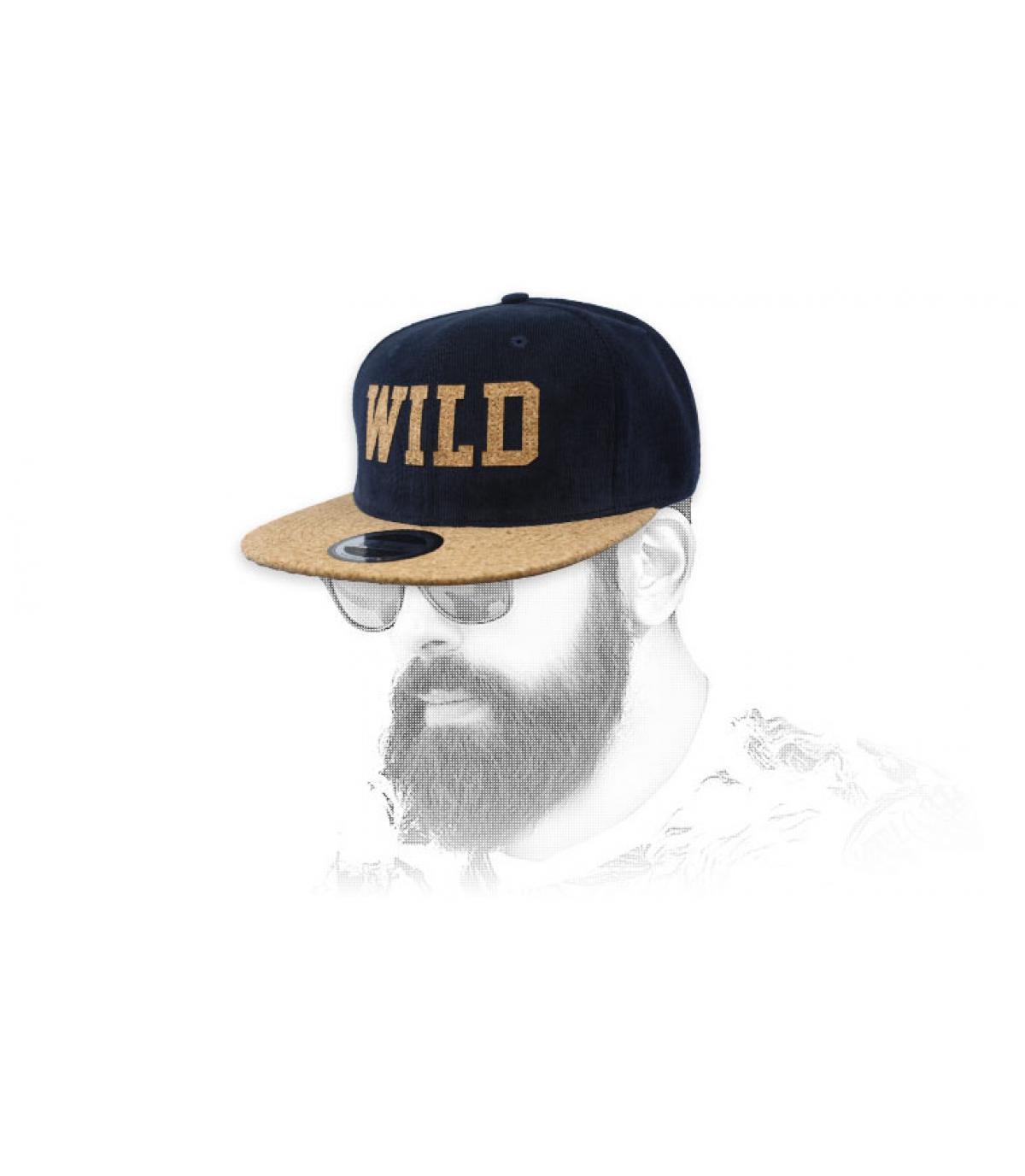snapback Wild azul