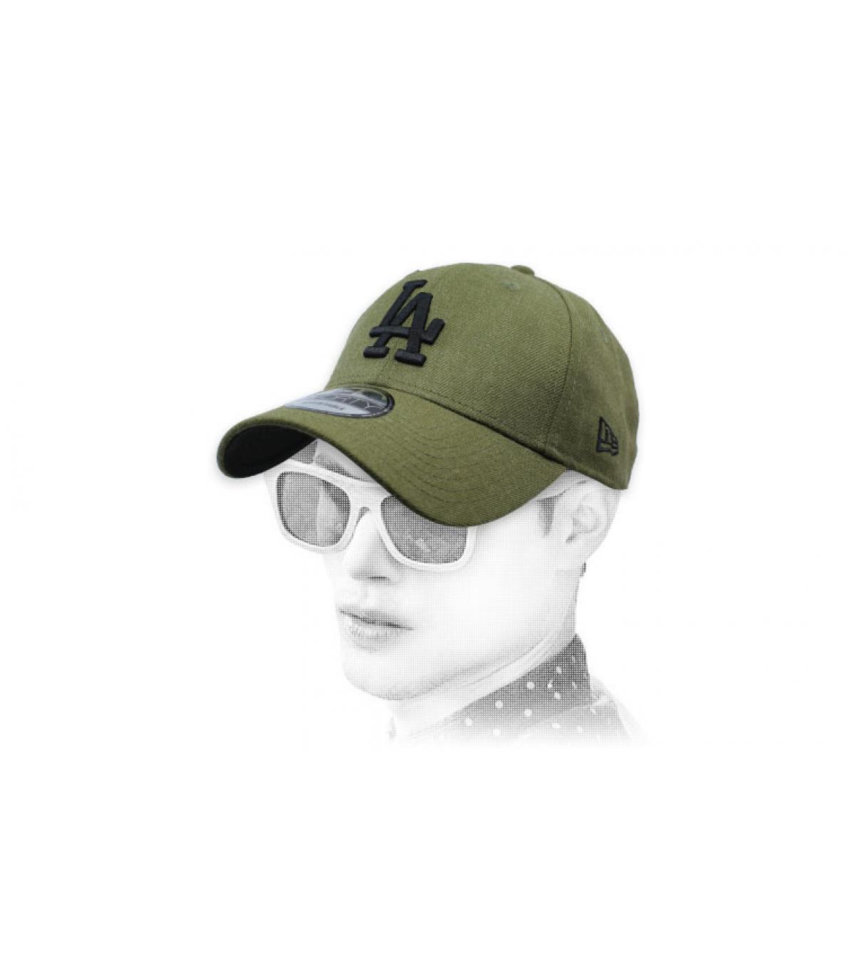 gorra A verde