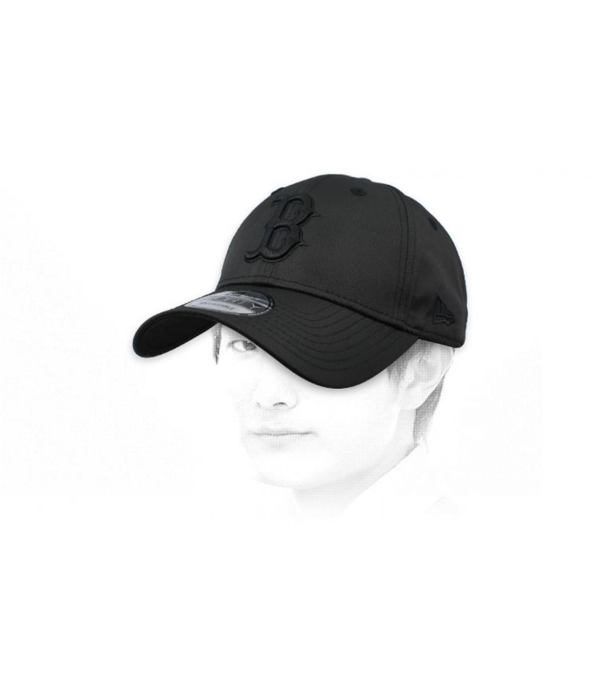 gorra B negro ripstop
