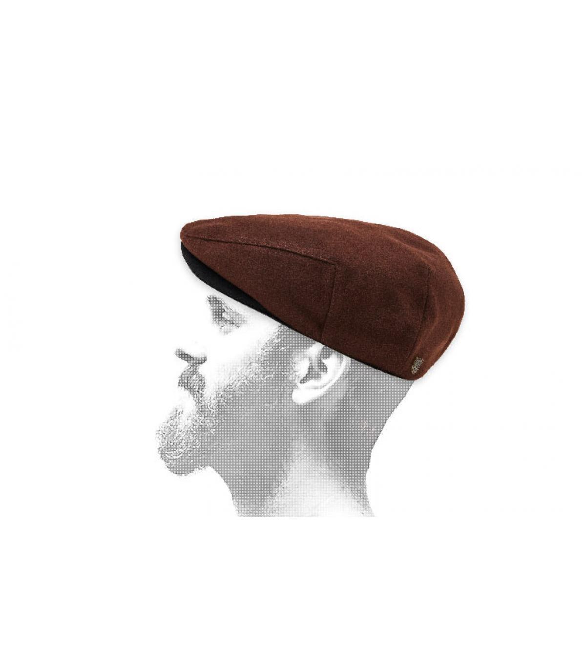 gorra Brixton marrón