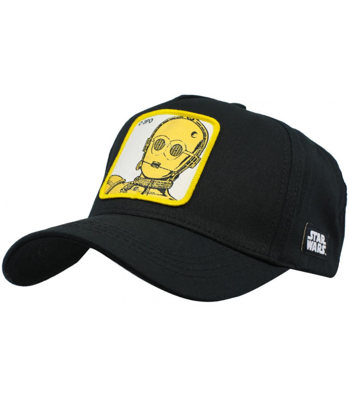 gorra C-3PO negro