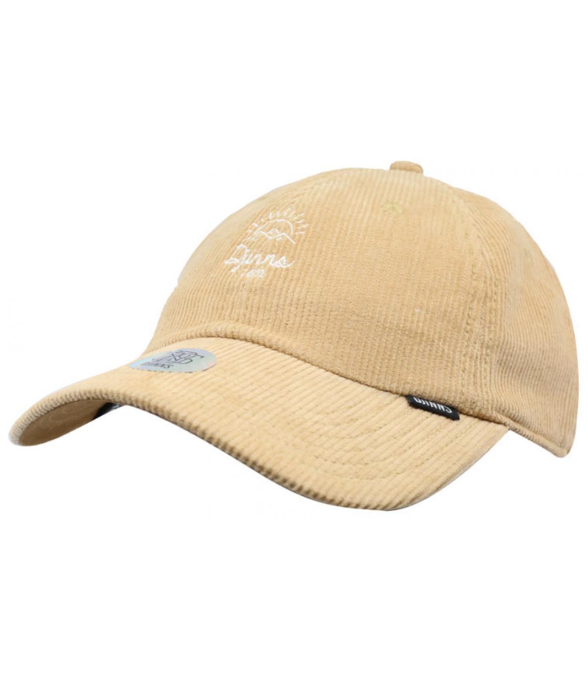 gorra pana beis Djinns - Dad Cap Corduroy Rev Wheat de Djinns. Headict 7b3df62bc4b