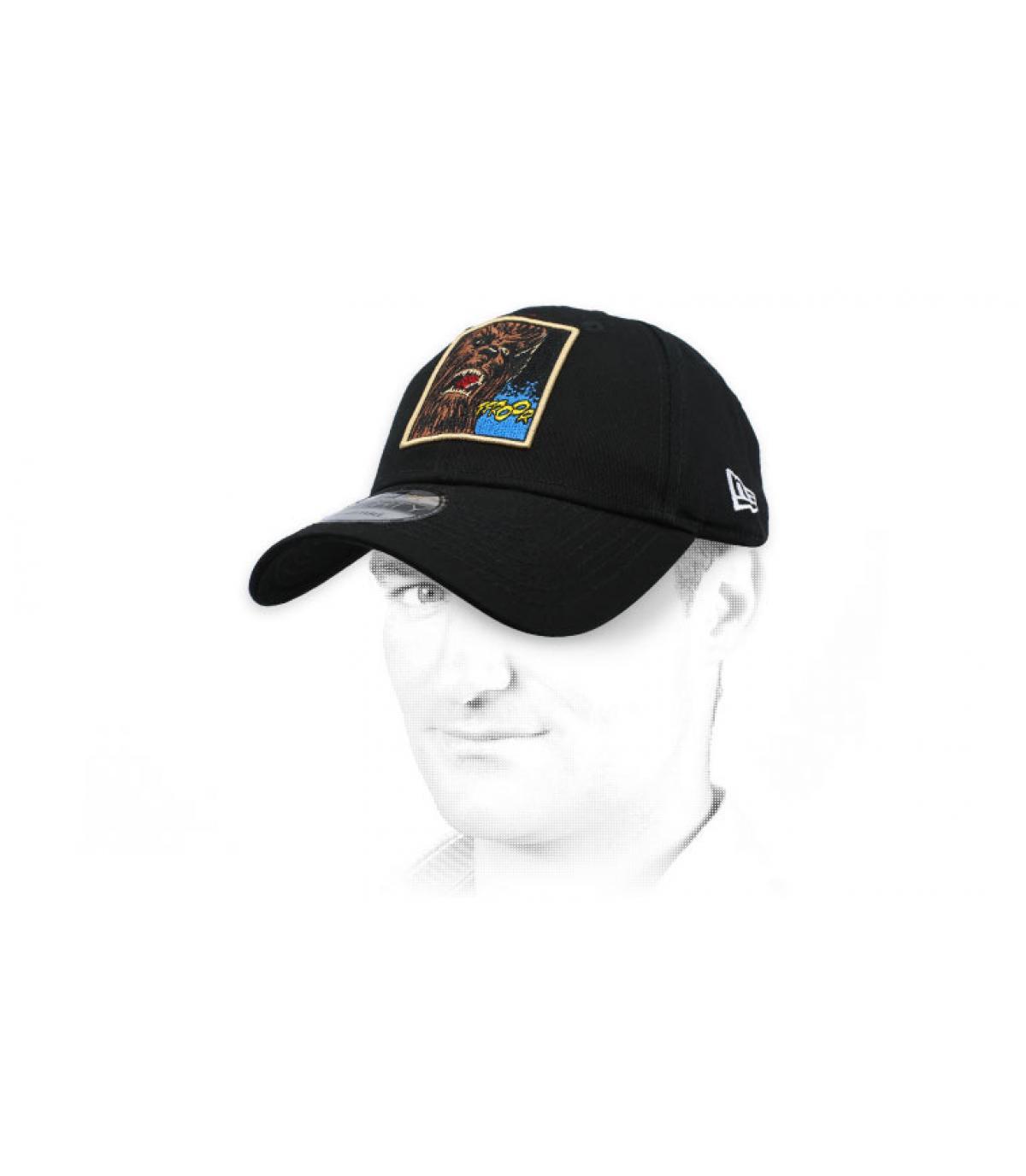 gorra Chubacca negro