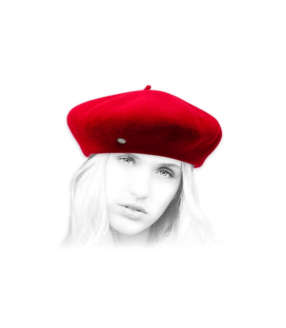 boina cachemira roja