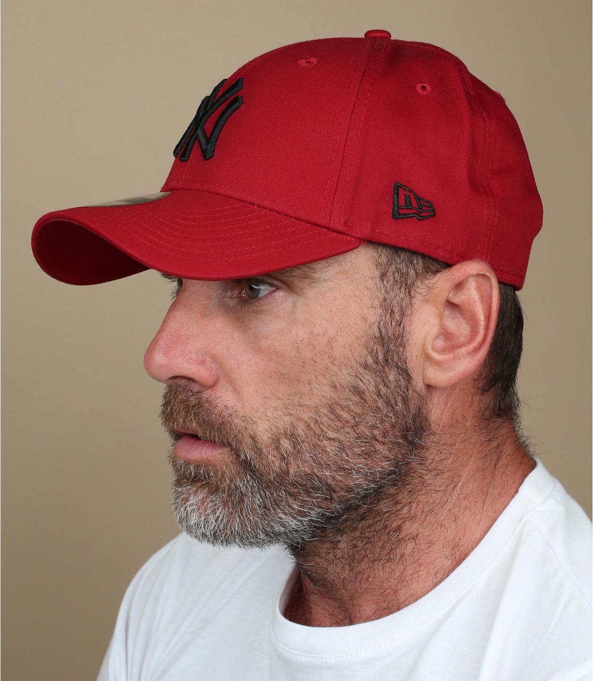 Gorra roja - Compra venta de Gorra rojas. Primera sombrerería en ... 215fcd73822