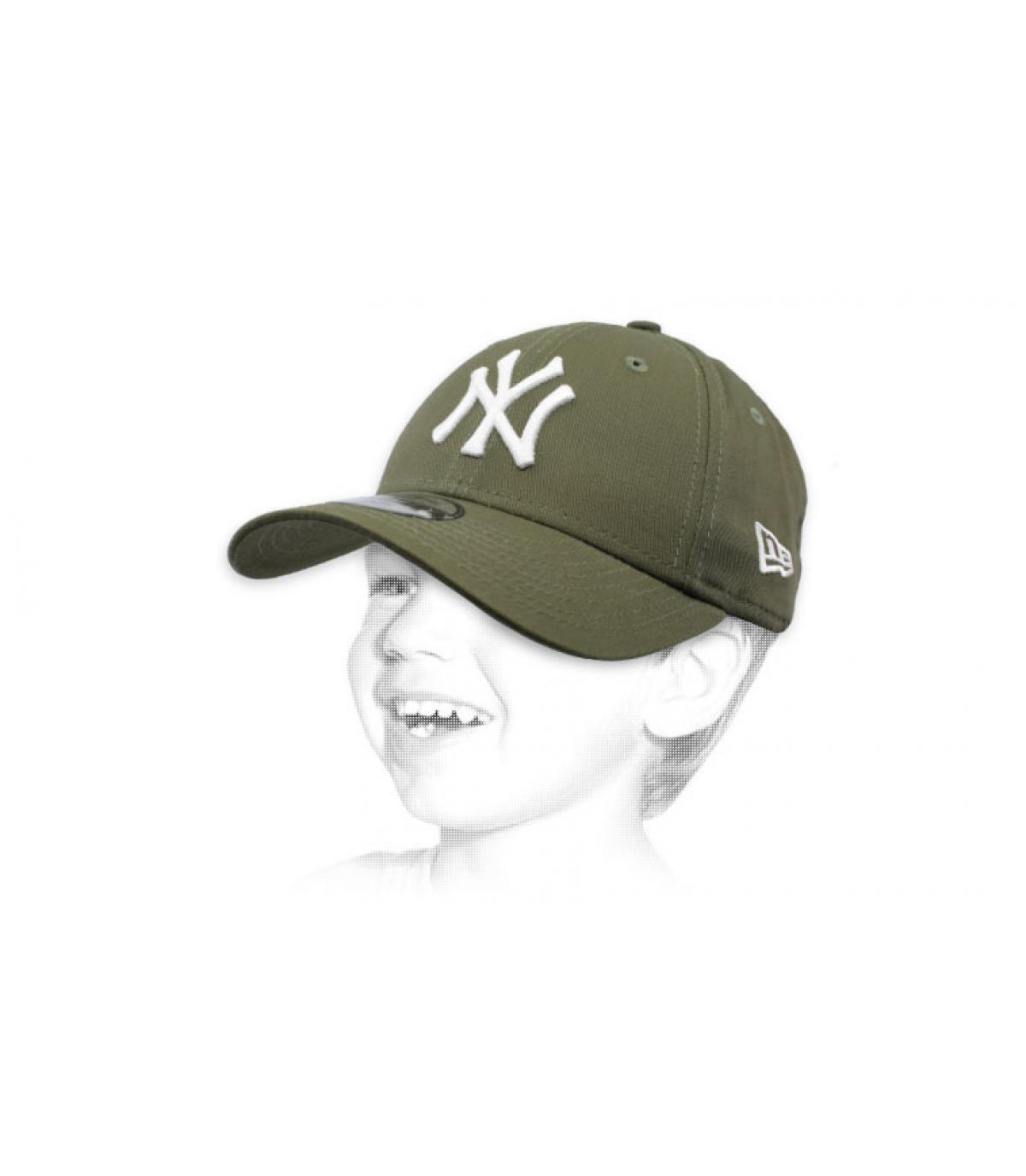 gorra niño NY verde