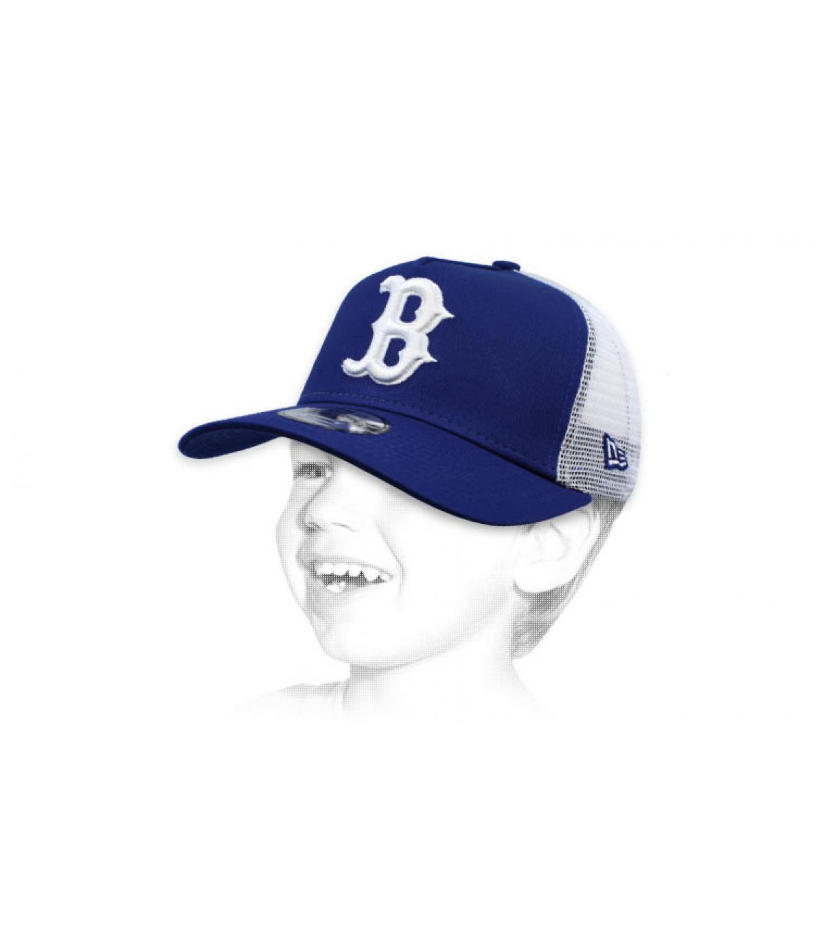 trucker niño B azul