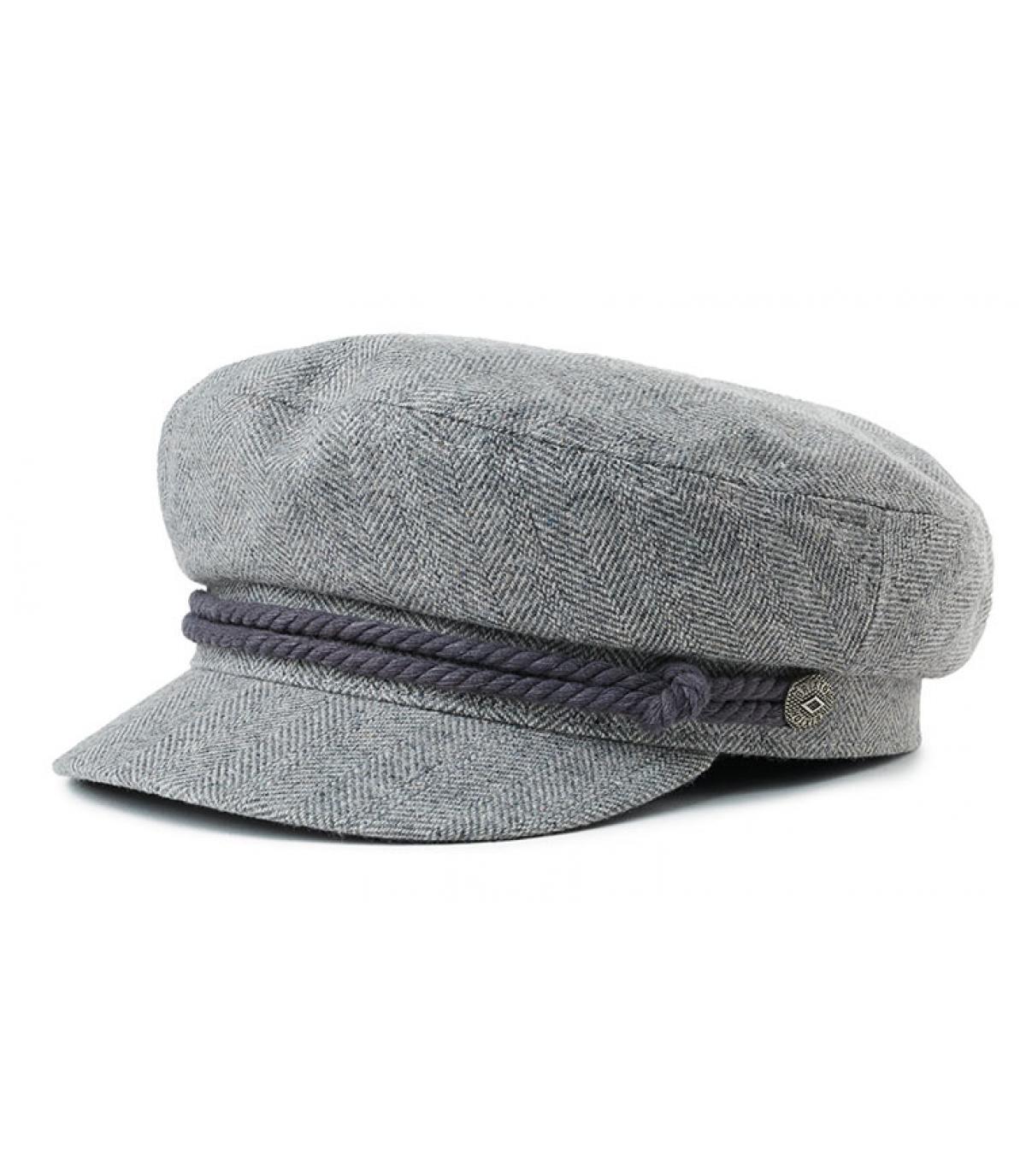 gorra marinera grís Brixton