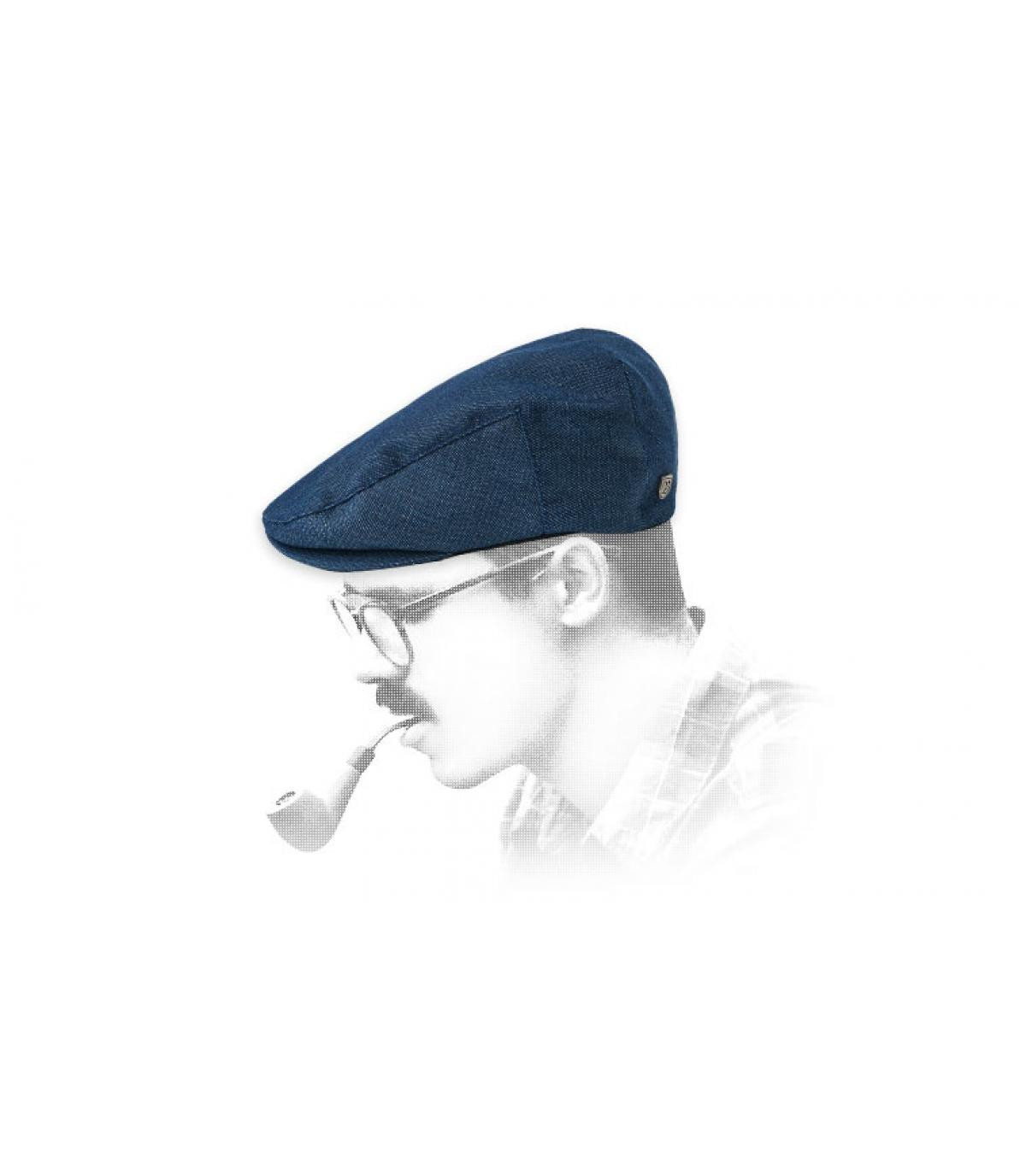 gorra azul Brixton
