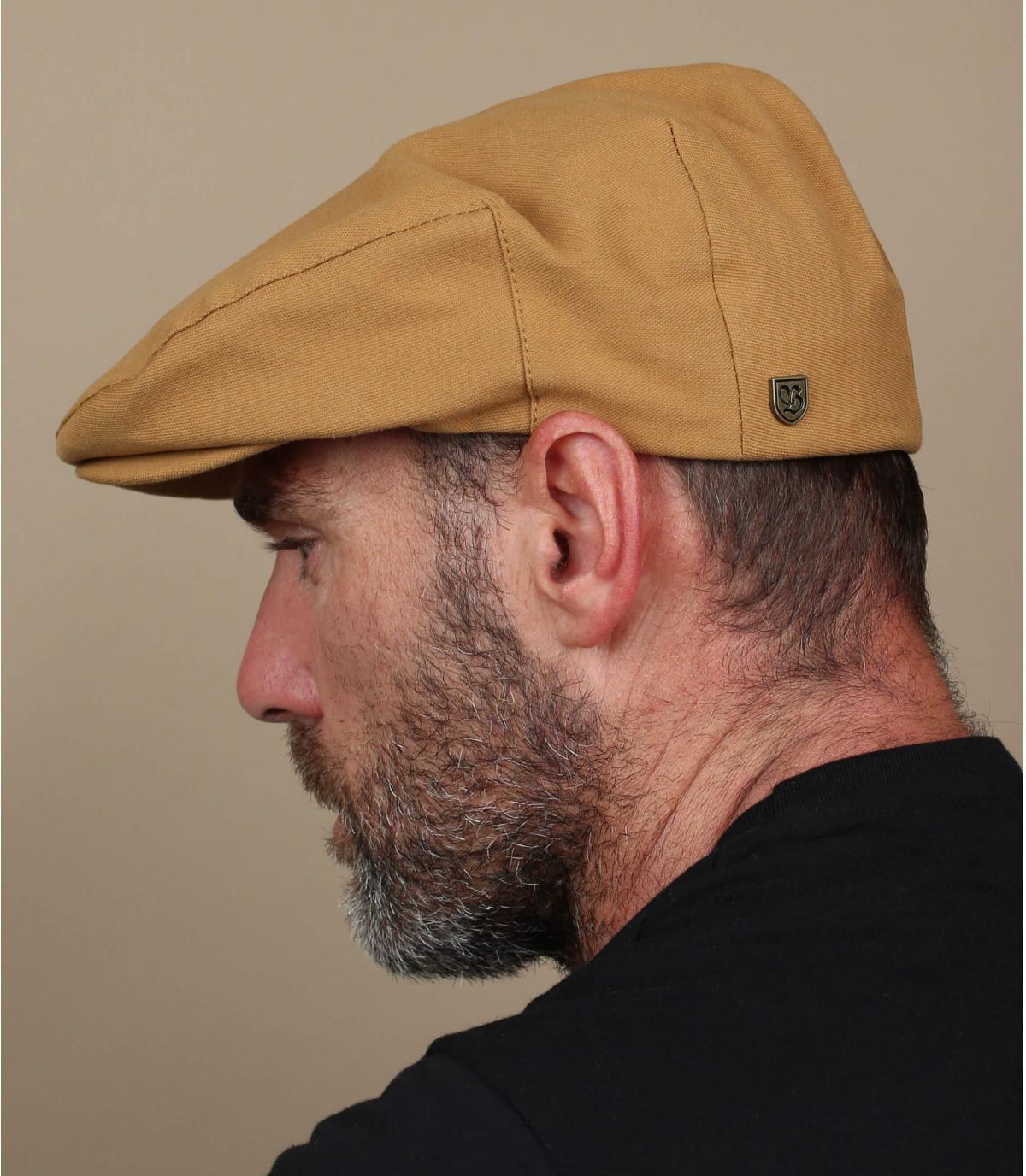 gorra amarilla Brixton