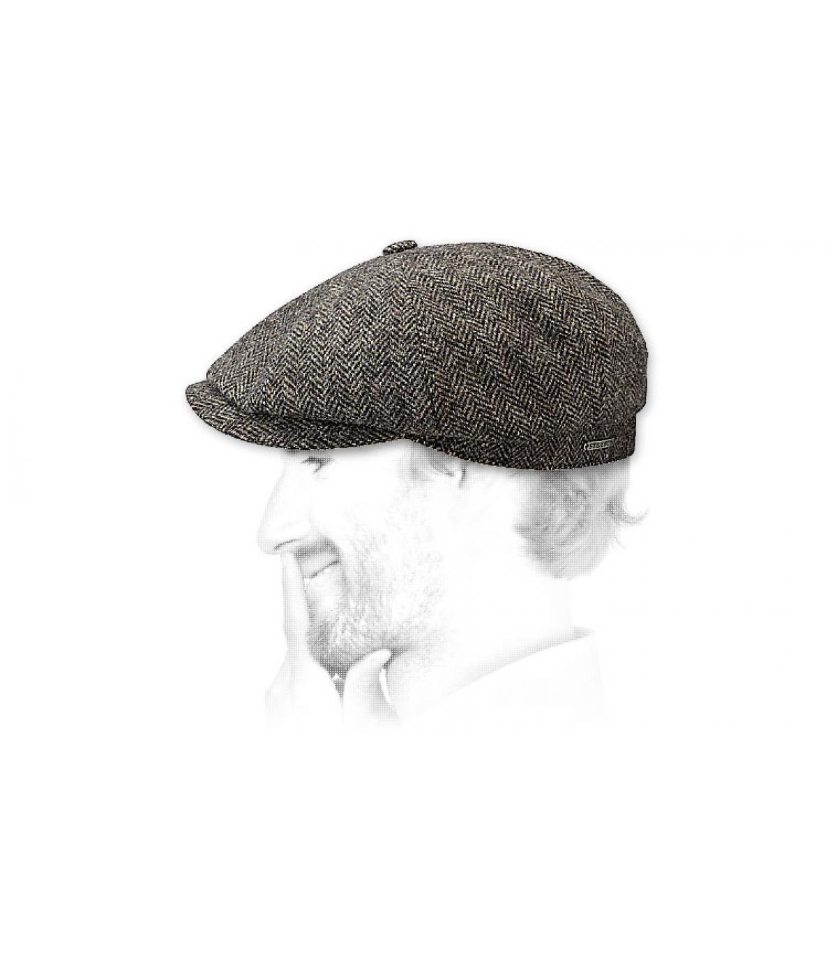 Detalles Hatteras woolrich grigio scuro imagen 3