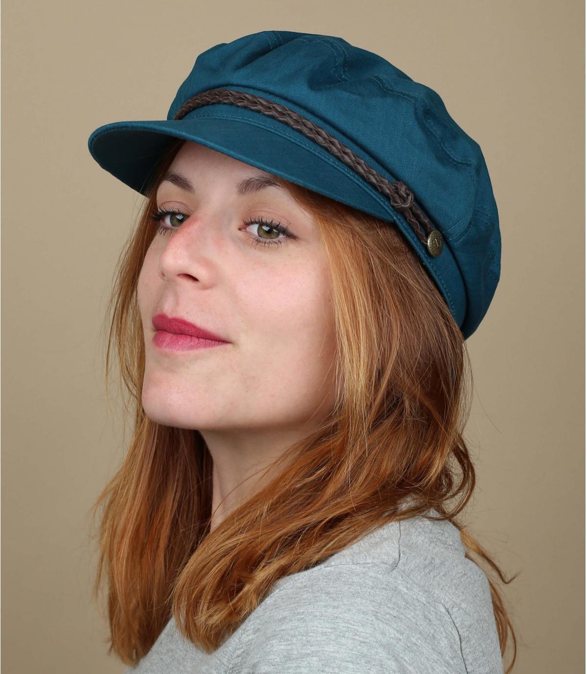 gorra marinera azul Brixton