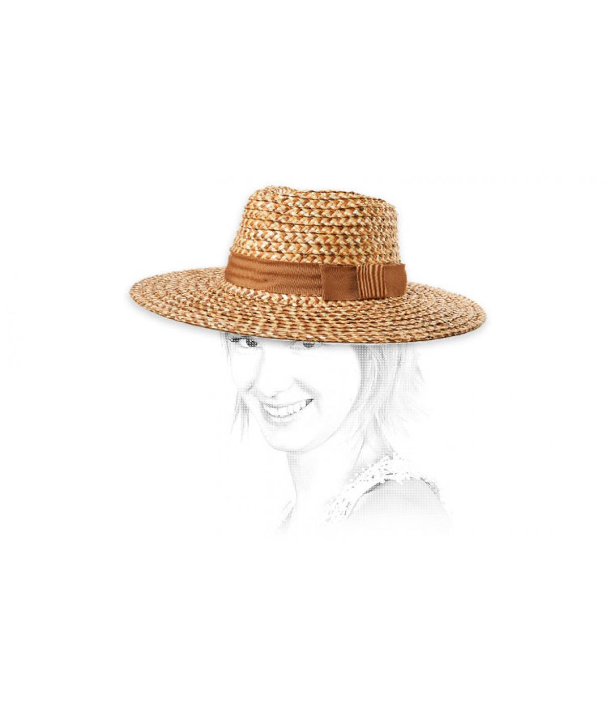 sombrero paja mujer Brixton