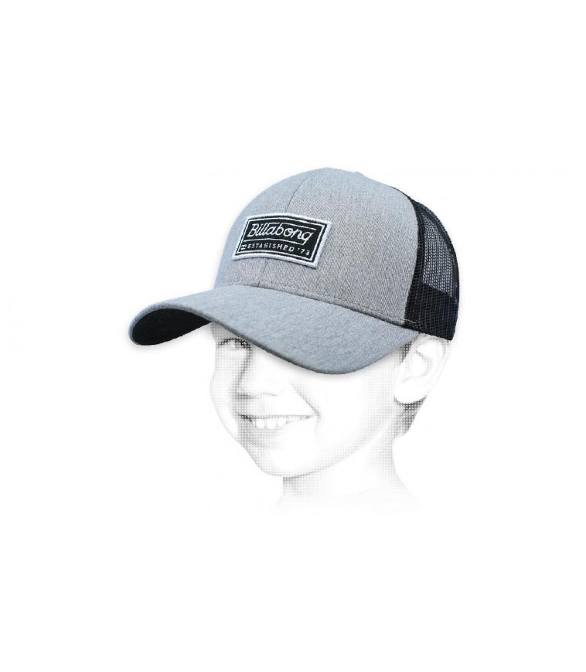 gorra niño Billabong gris