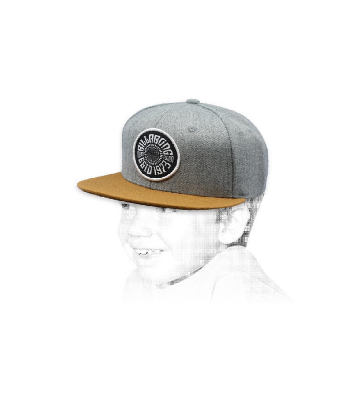 gorra niño gris Billabong