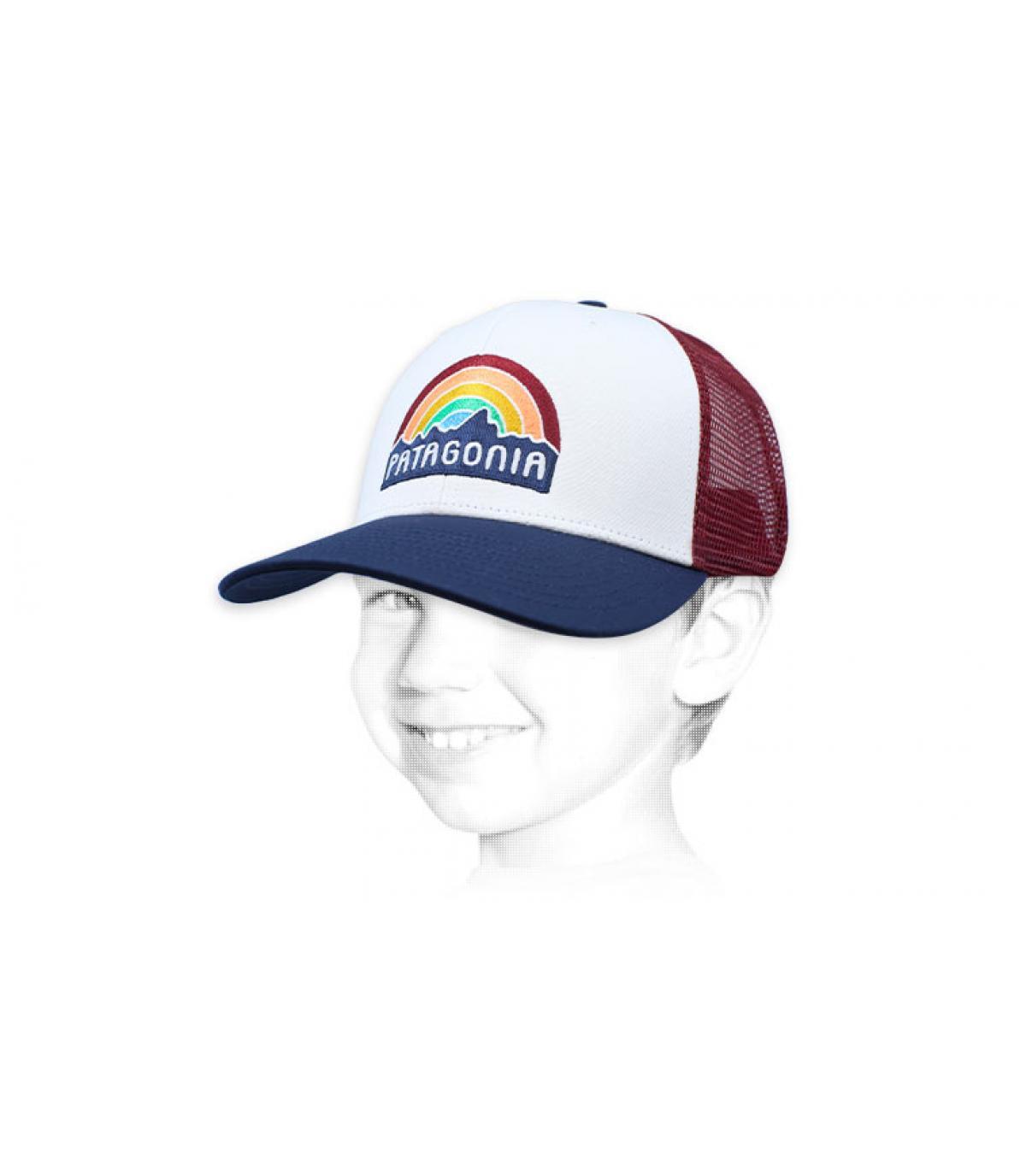 trucker arco iris niño Patagonia