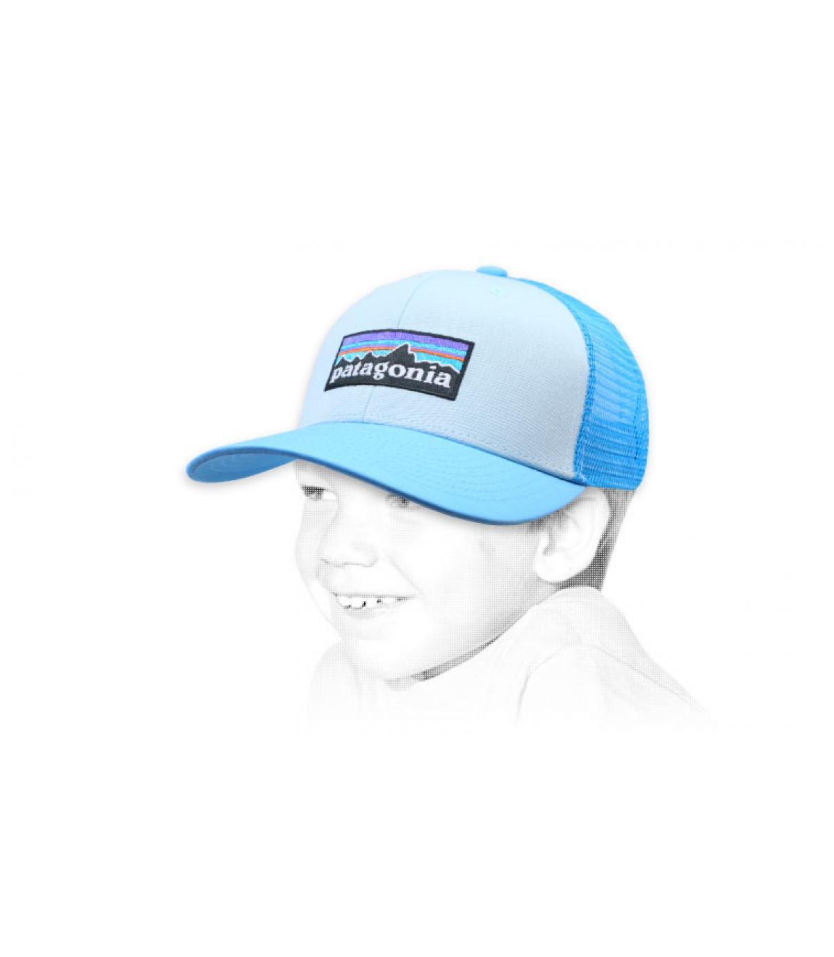 trucker niño azul Patagonia