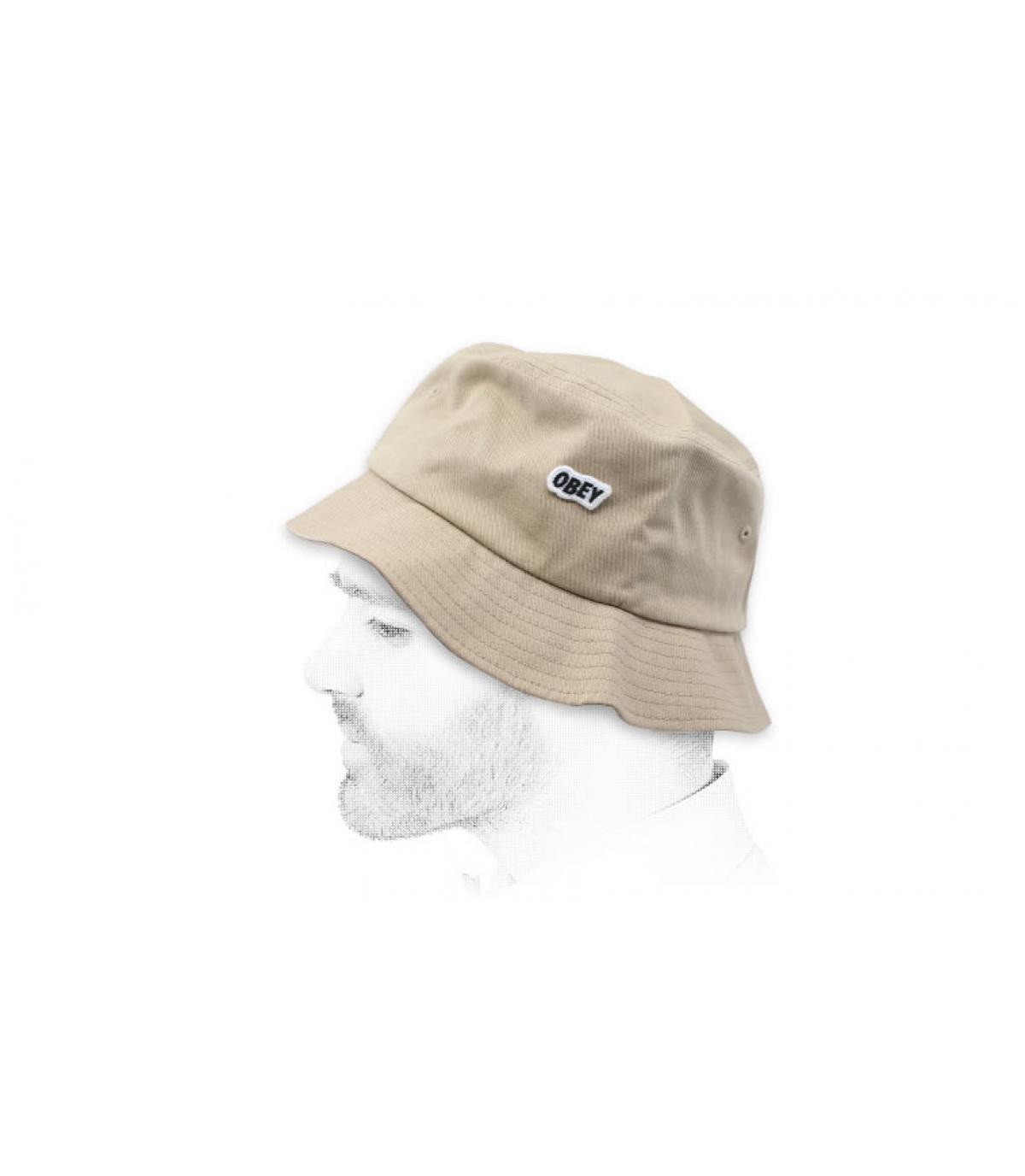 gorro pescador Obey beis
