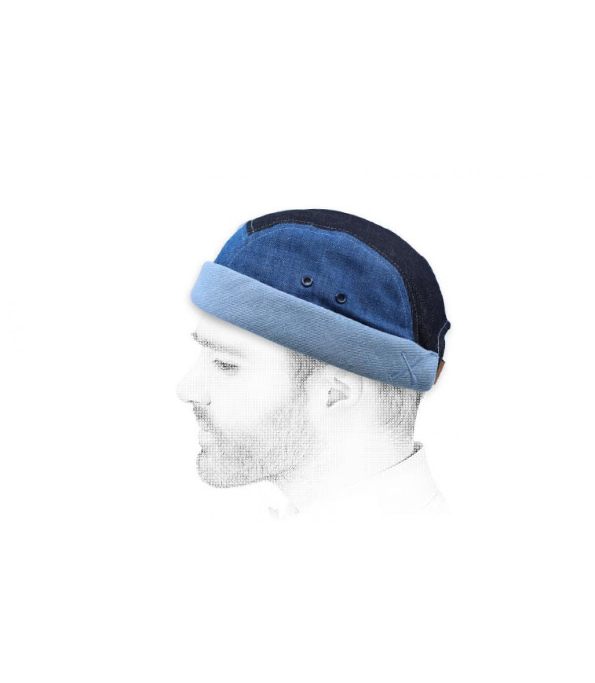 miki rayas azul