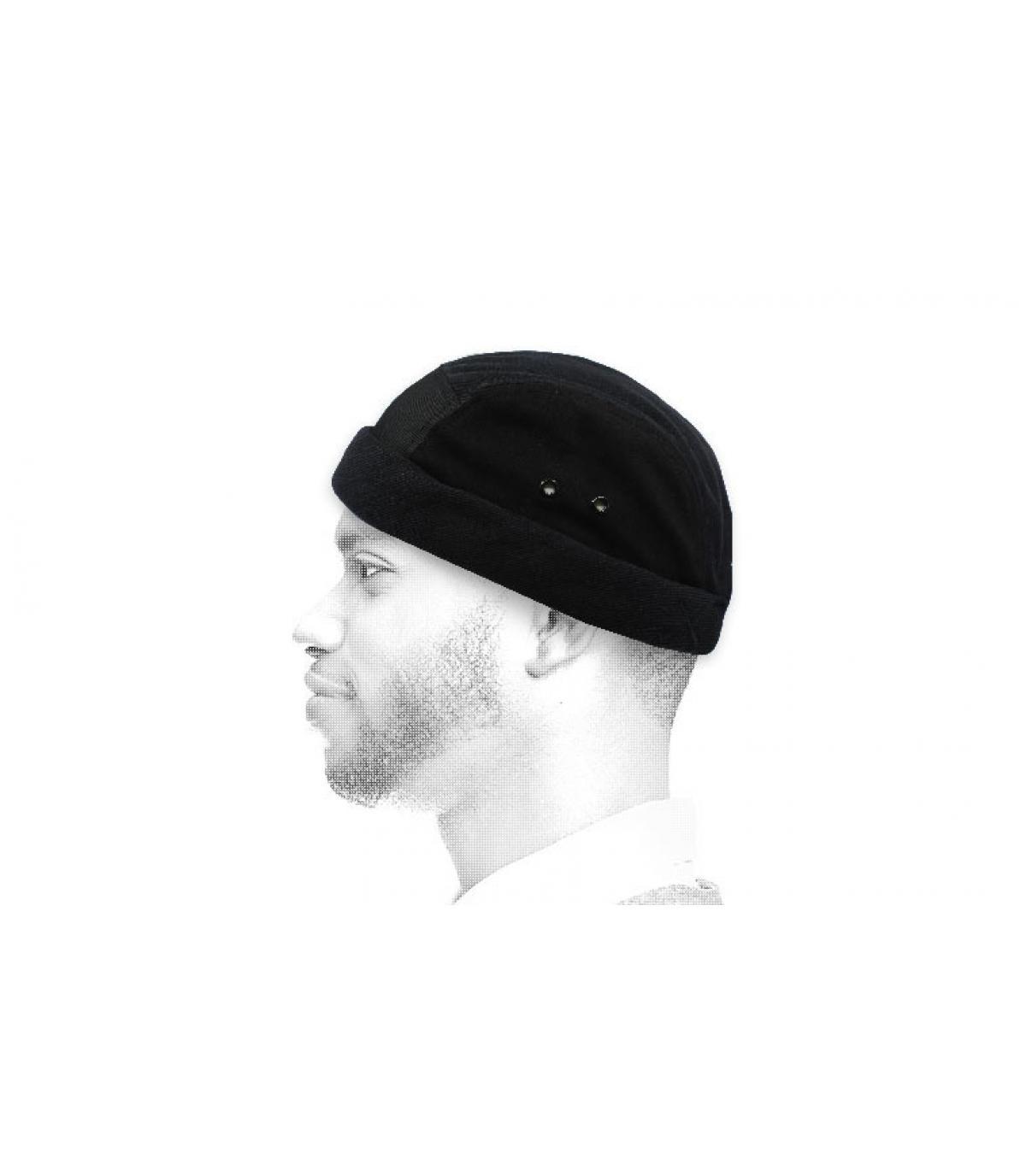 miki negro Béton Ciré