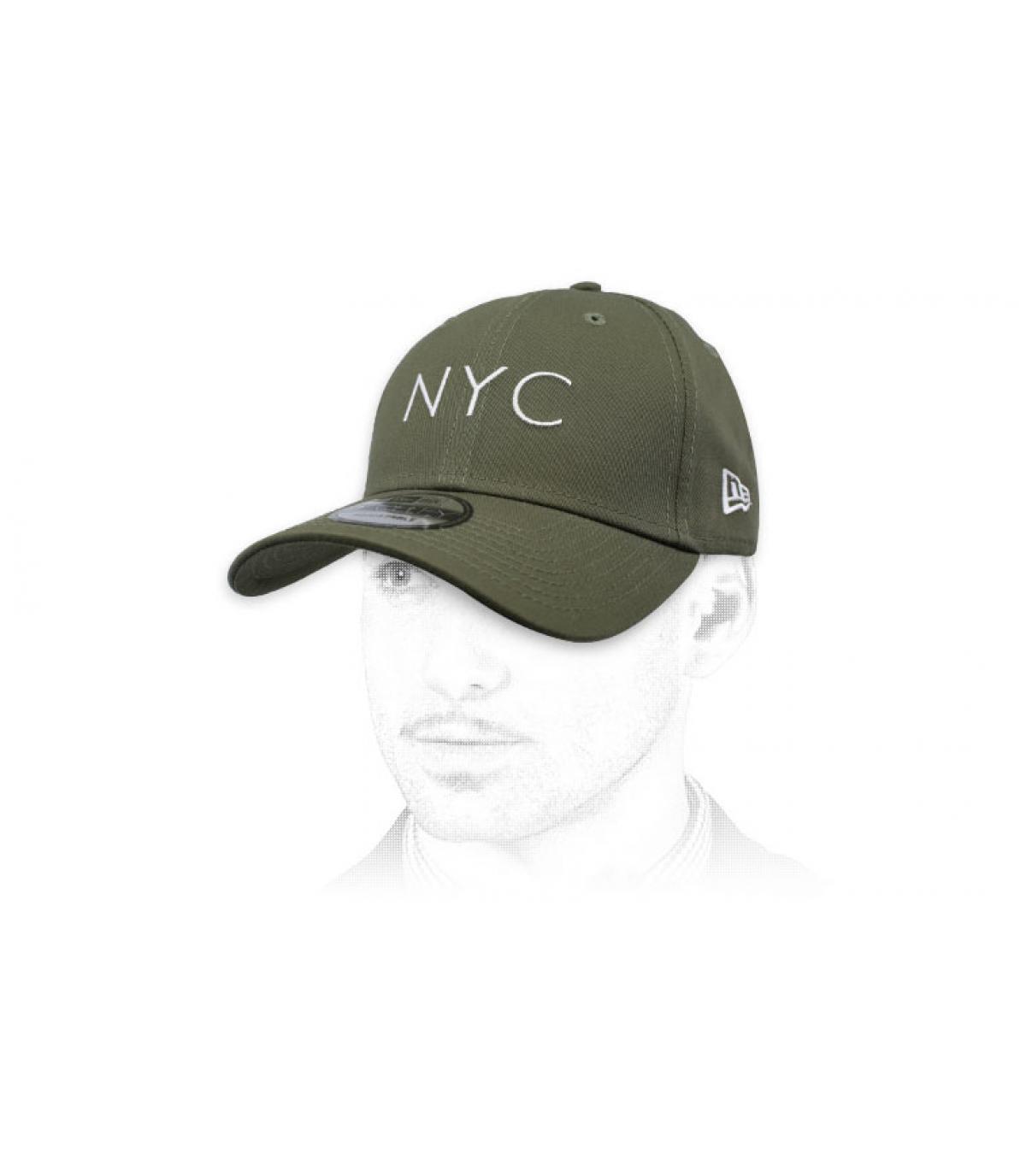 gorra NYC verde