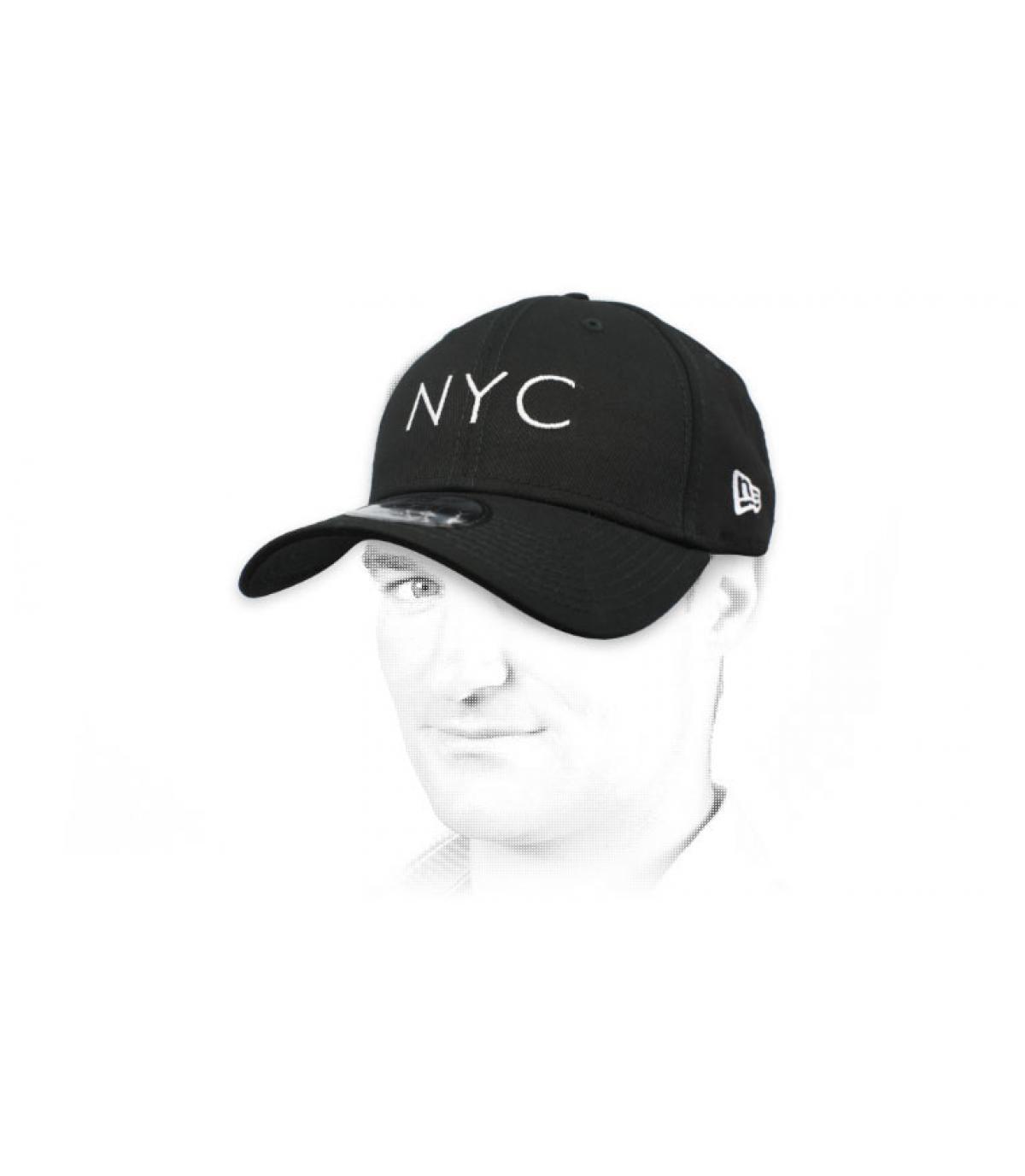 gorra NYC negro