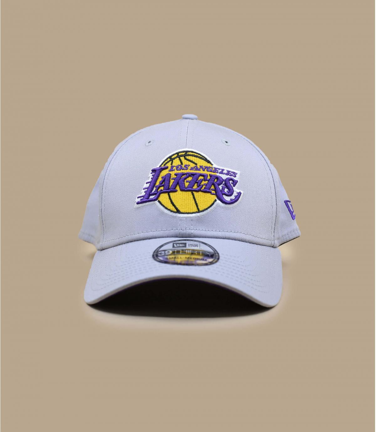 gorra Lakers gris