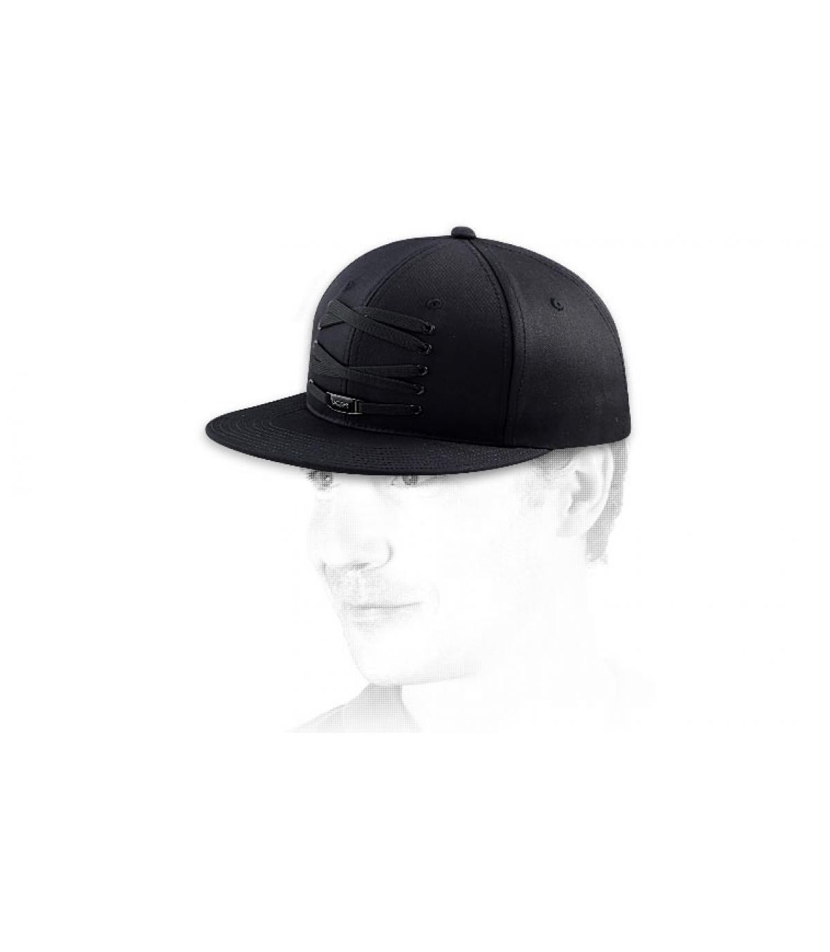 Gorra Lacer lacets negro