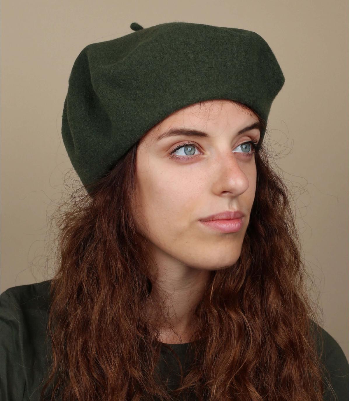 boina verde lana