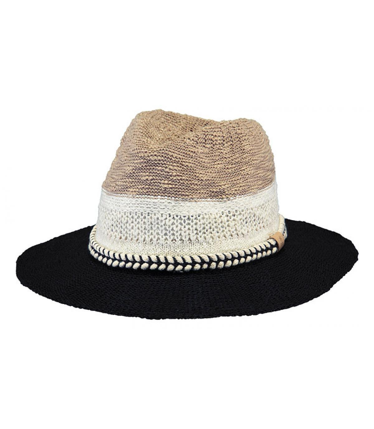 sombrero algodón raya